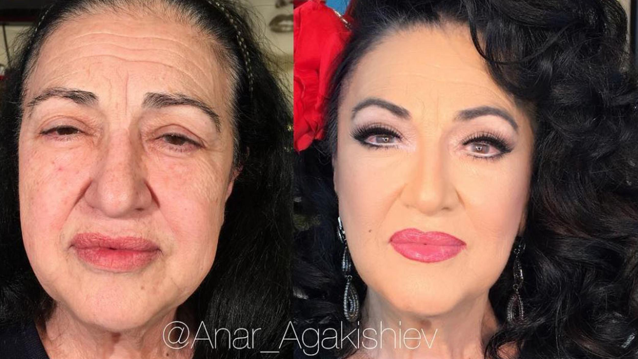 Makeup artist anar agakishiev does amazing transformations of women makeup artist anar agakishiev does amazing transformations of women 45 and up publicscrutiny Choice Image