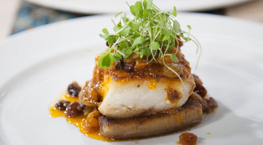 Brazilian Grouper With Bananas And Achiote Sauce Today Com