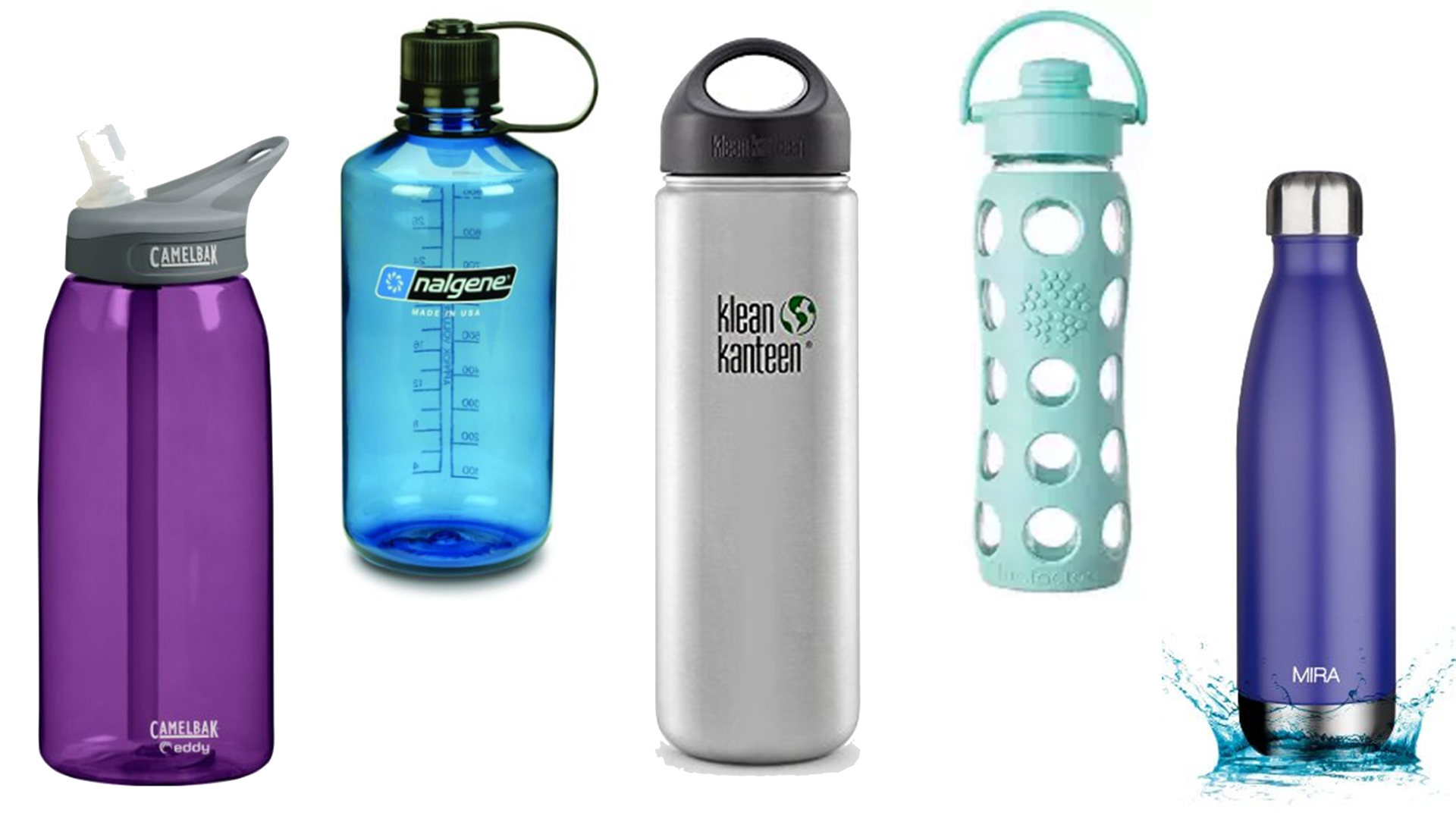 How to clean and sanitize water bottles