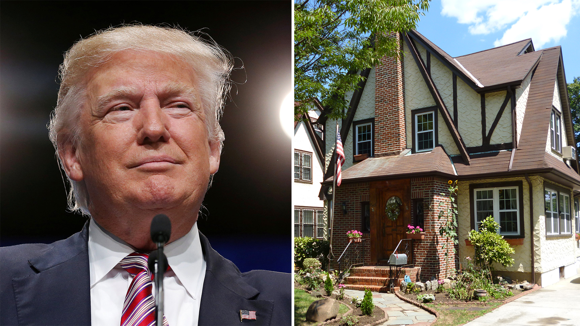 Donald Trumps childhood in Queens New York is for sale TODAY