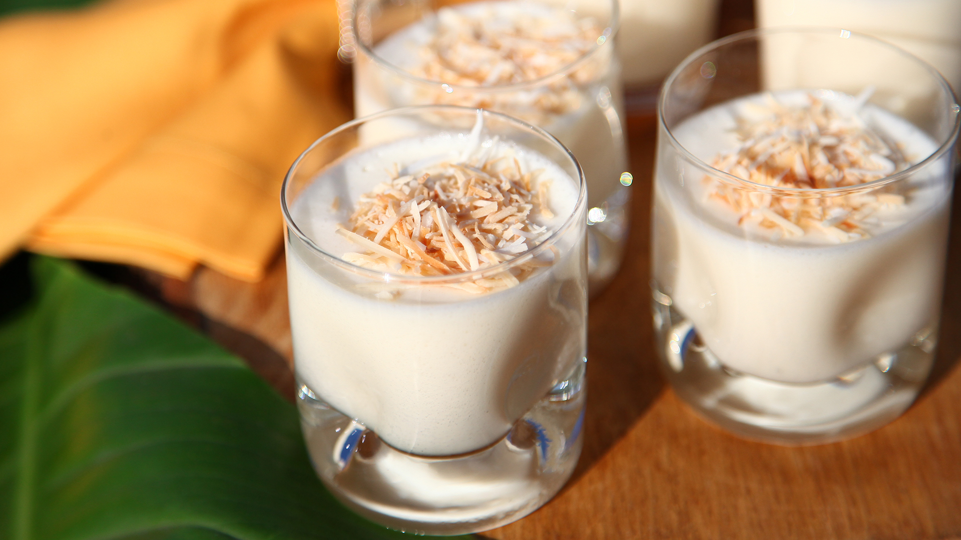 Coconut Mousse Mousse De Coco Today Com