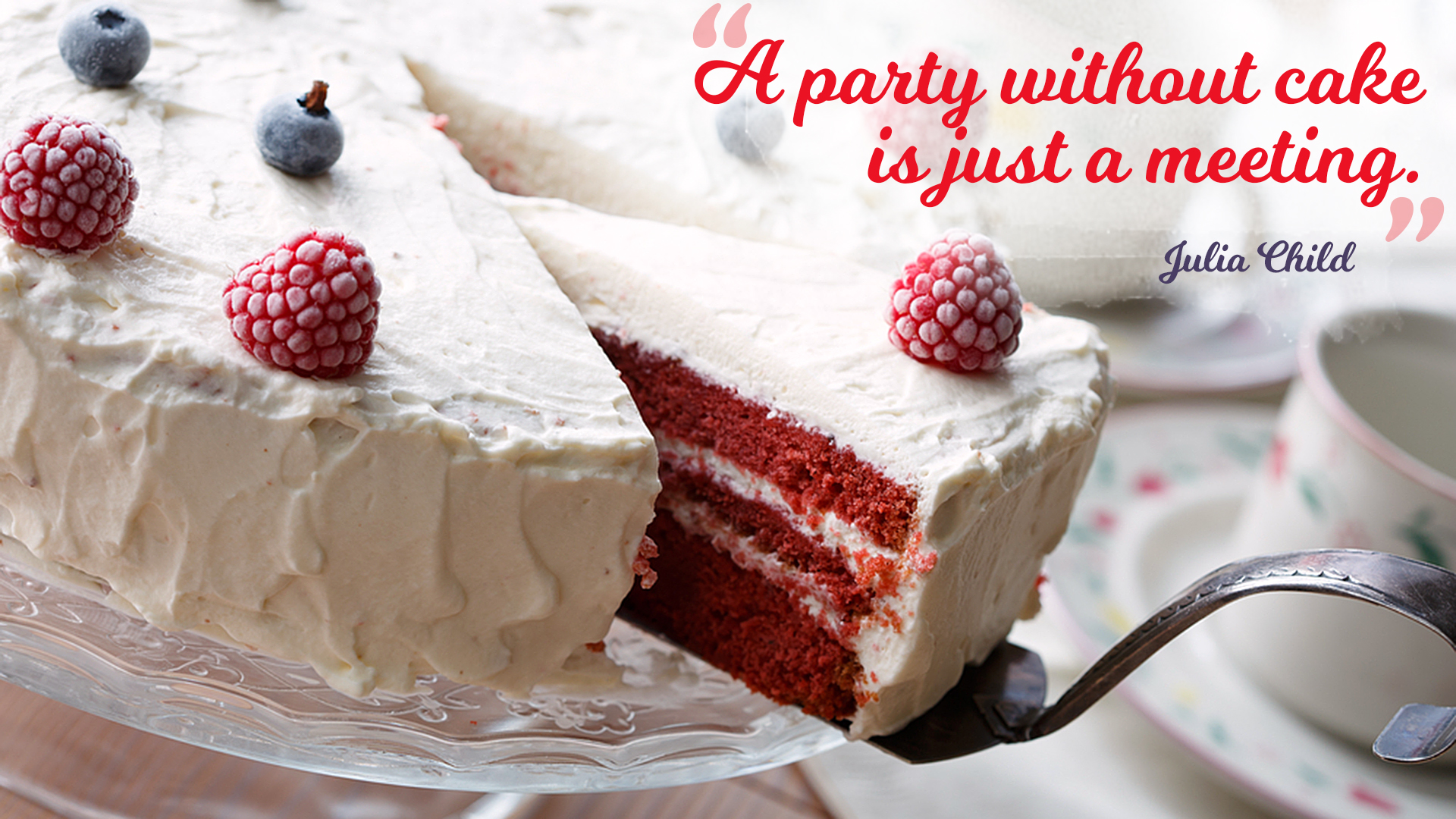 Organic Red Velvet Cake
