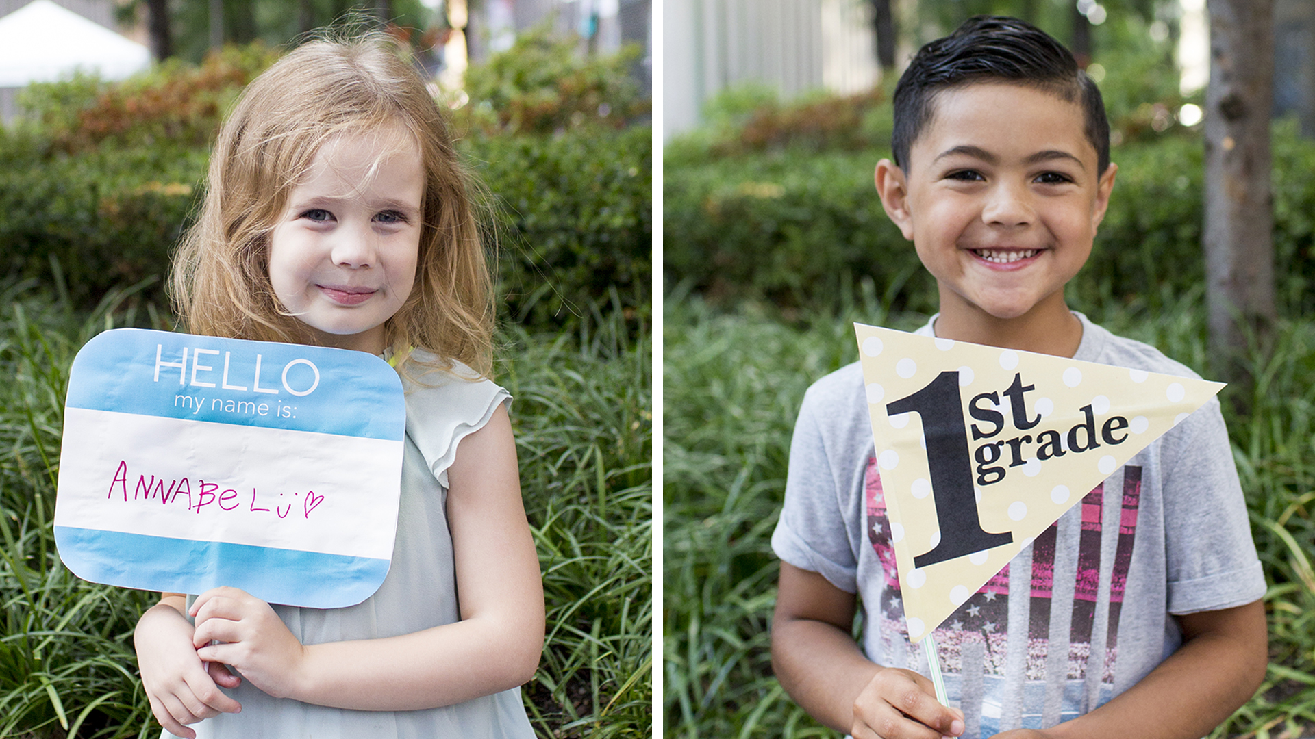 First day of school signs: 9 free printables for photos