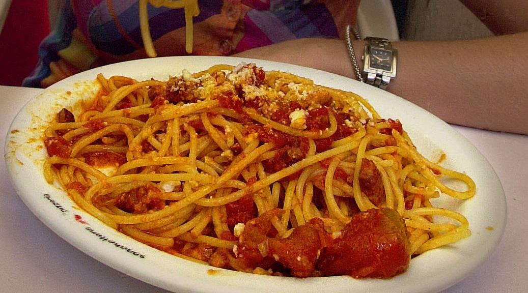 IMAGE: Spaghetti all'amatriciana