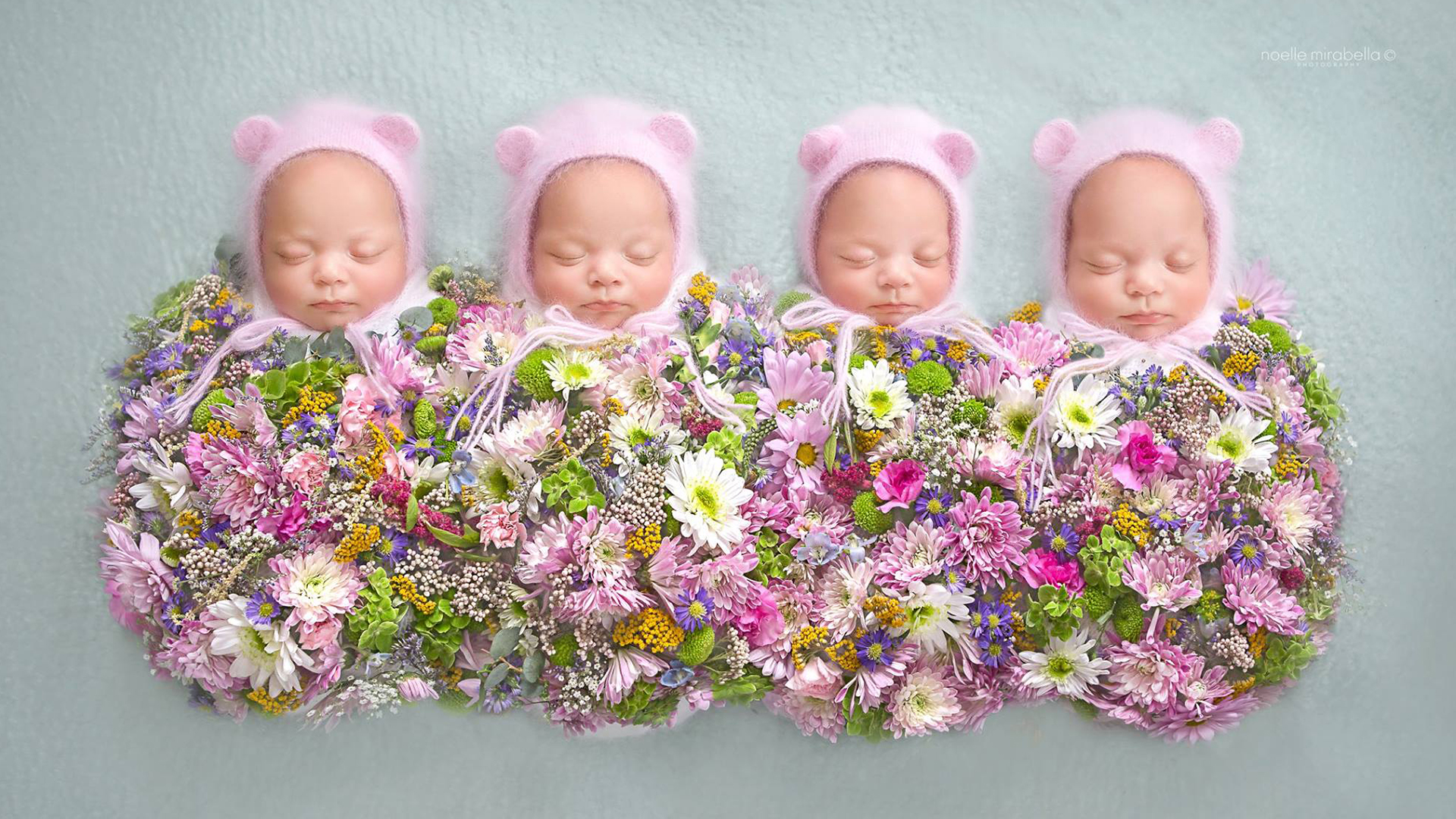 Identical Quadruplets From Canada Charm In New Baby Photos