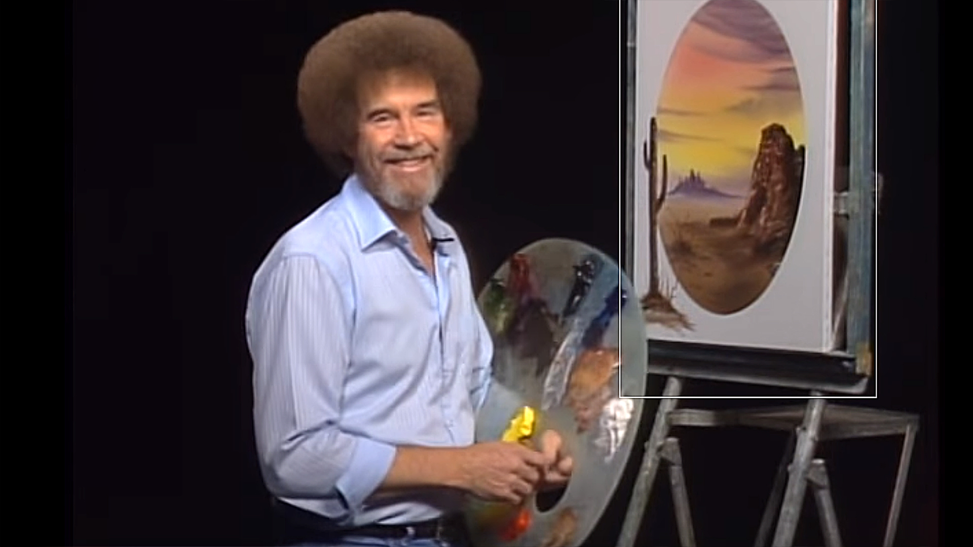 Can You Handle The Truth Bob Ross Famous Curly Hair Was