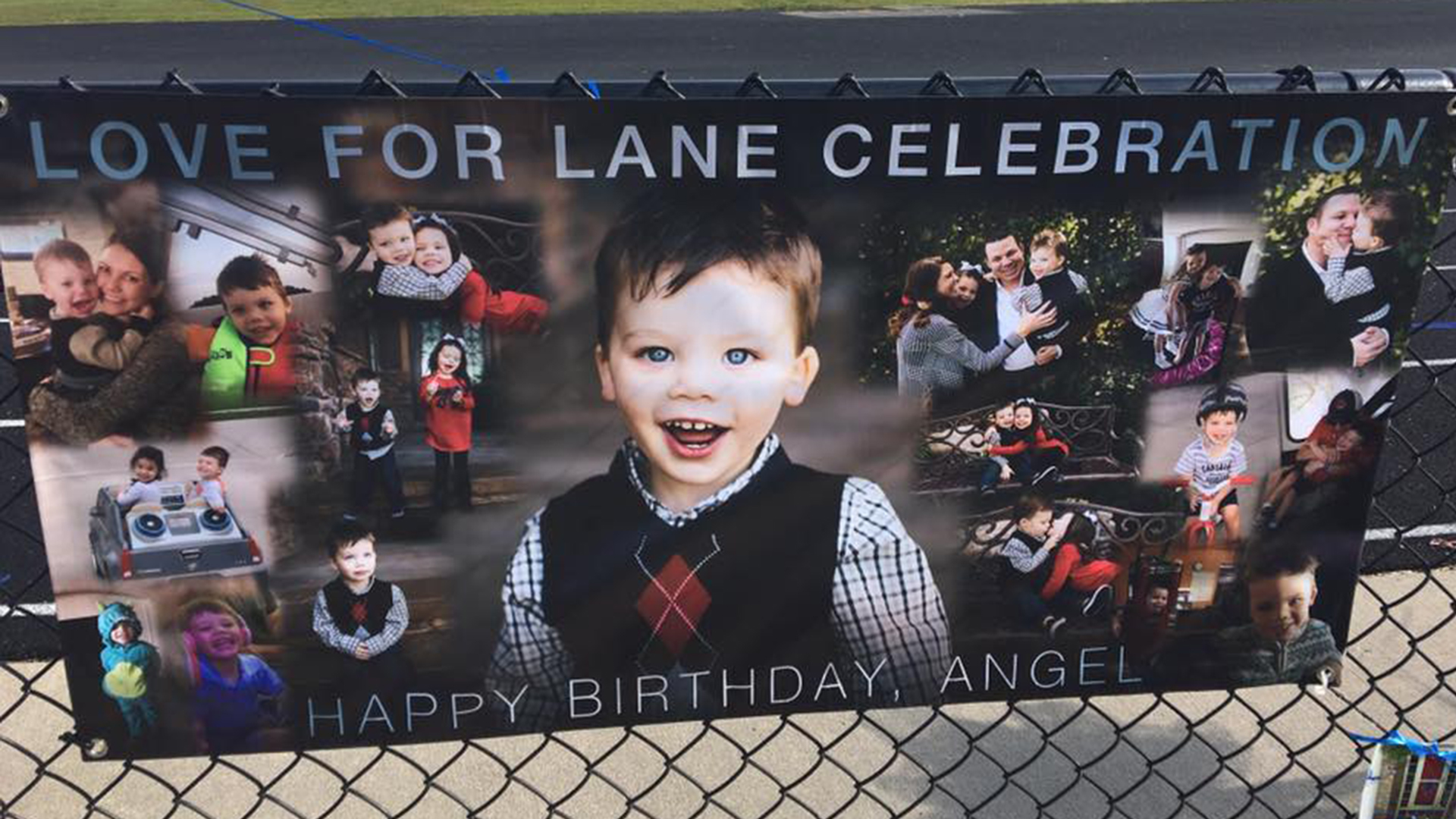 community rallies around lane graves family on his first