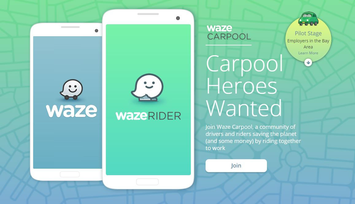 Google Takes on Uber, Expands Waze to Include Carpooling