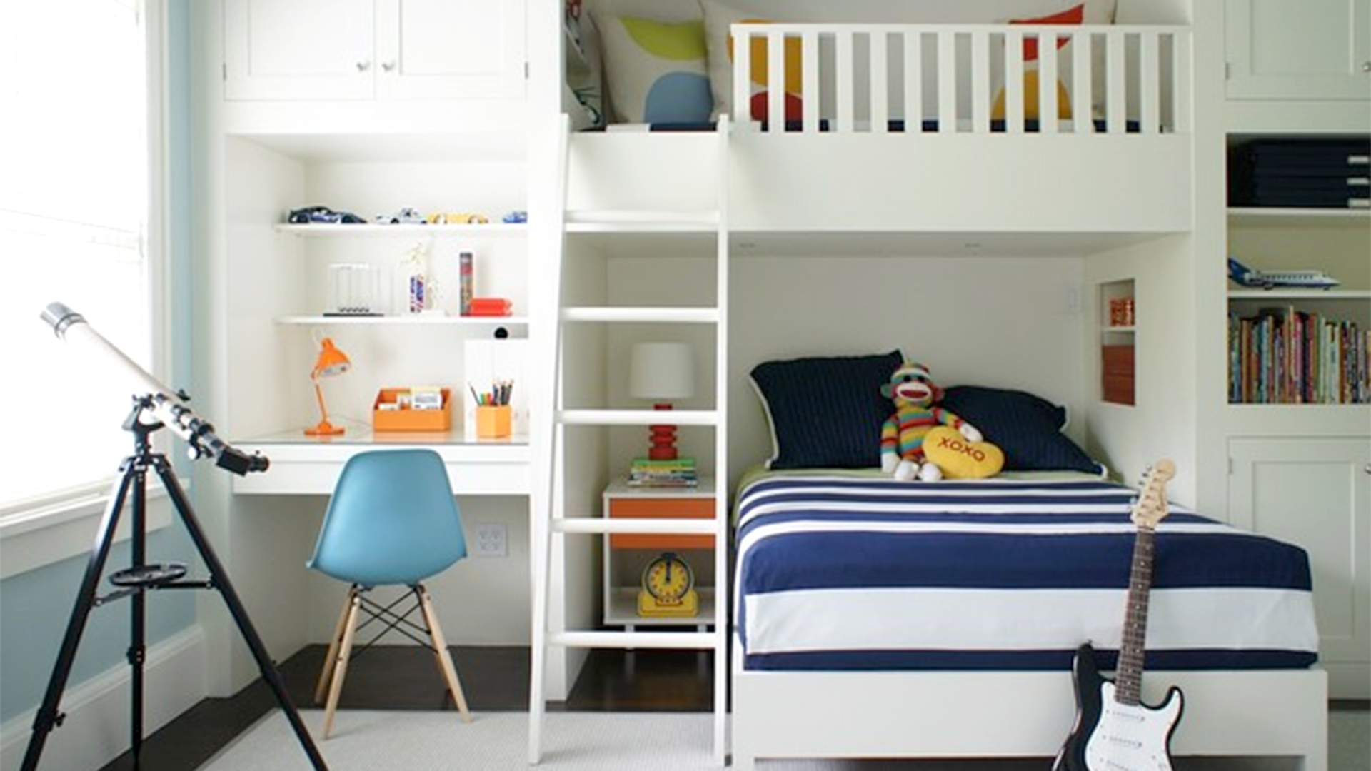 Girls Bedroom Ideas For Every Child: 6 Creative Built-in Ideas For Kids' Rooms