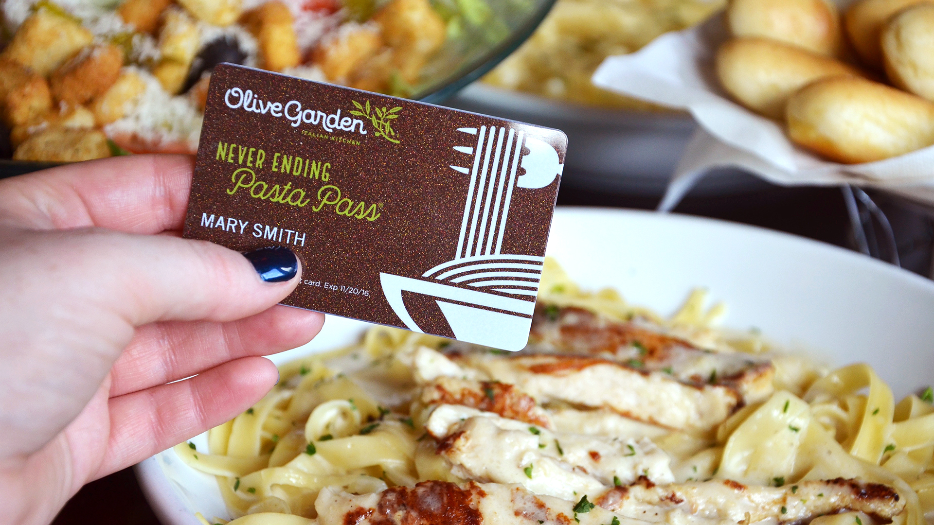 All The Pasta You Can Eat With Olive Garden S Never Ending: How To Get A Sold Out Olive Garden Never Ending Pasta Pass