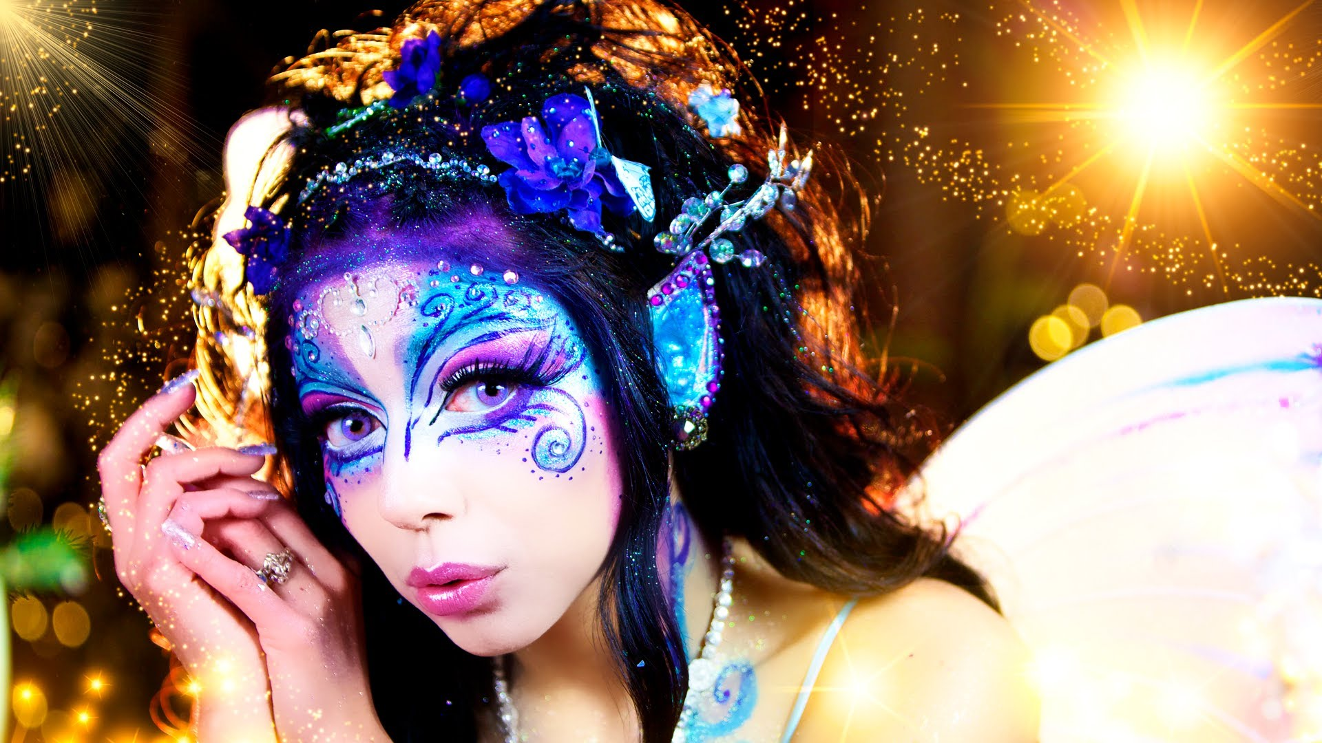 Halloween makeup ideas: 17 magical fairy makeup tutorials ...