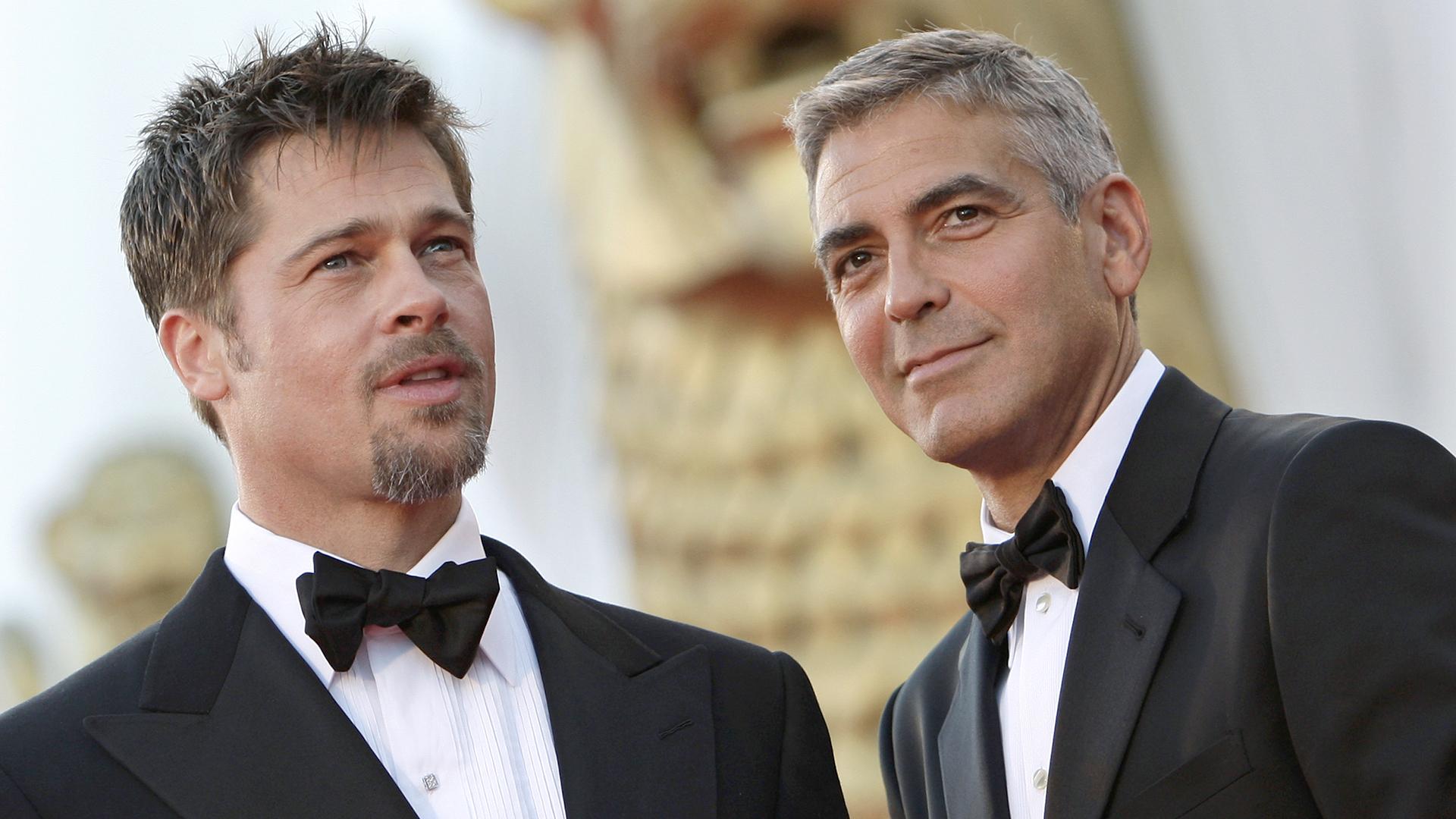 Watch George Clooney learn about Brad Pitt, Angelina Jolie divorce ... Brangelina