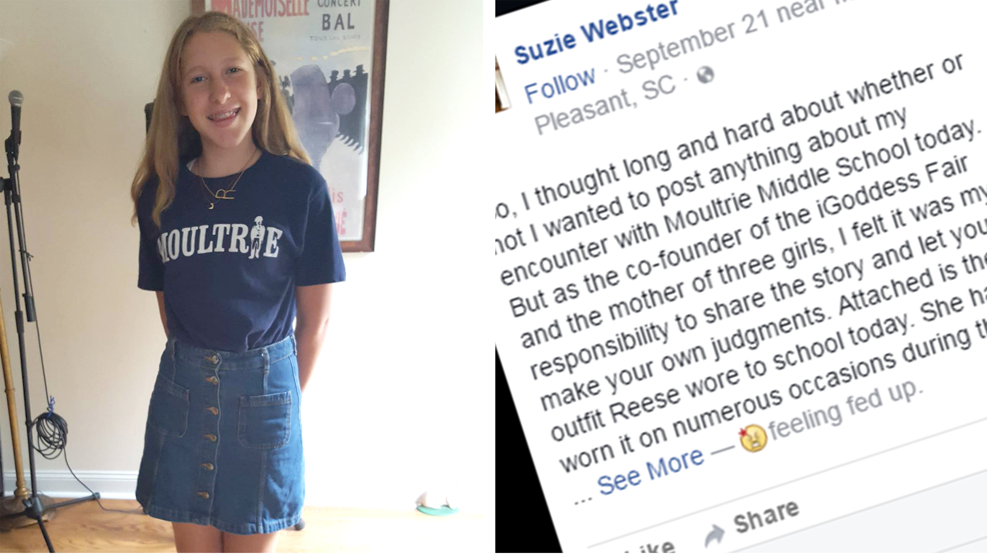 The dress controversy - 6th Grader Humiliated After Teacher Says Her Skirt Is For Clubbing Today Com