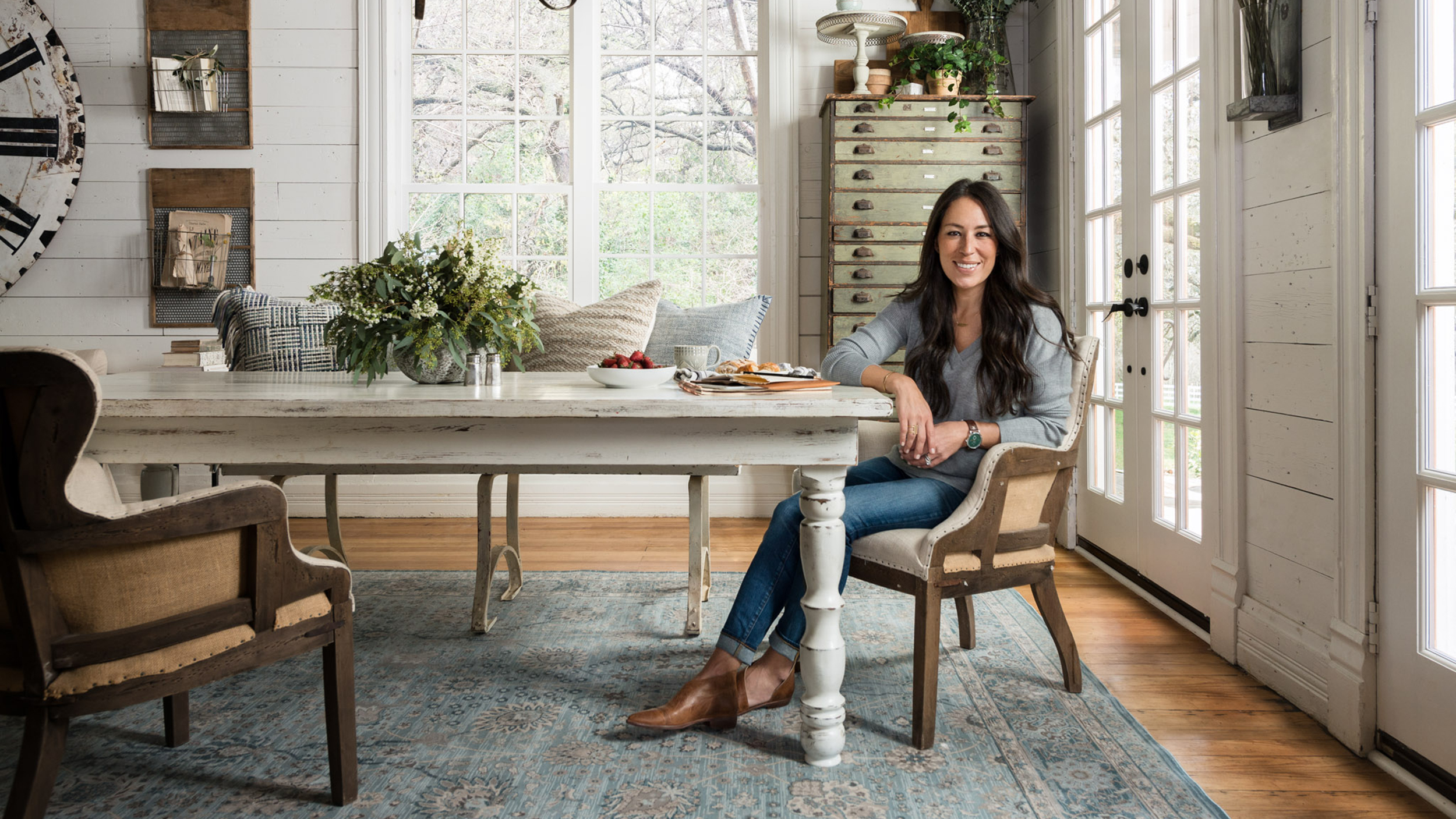 Image result for Joanna Gaines at home