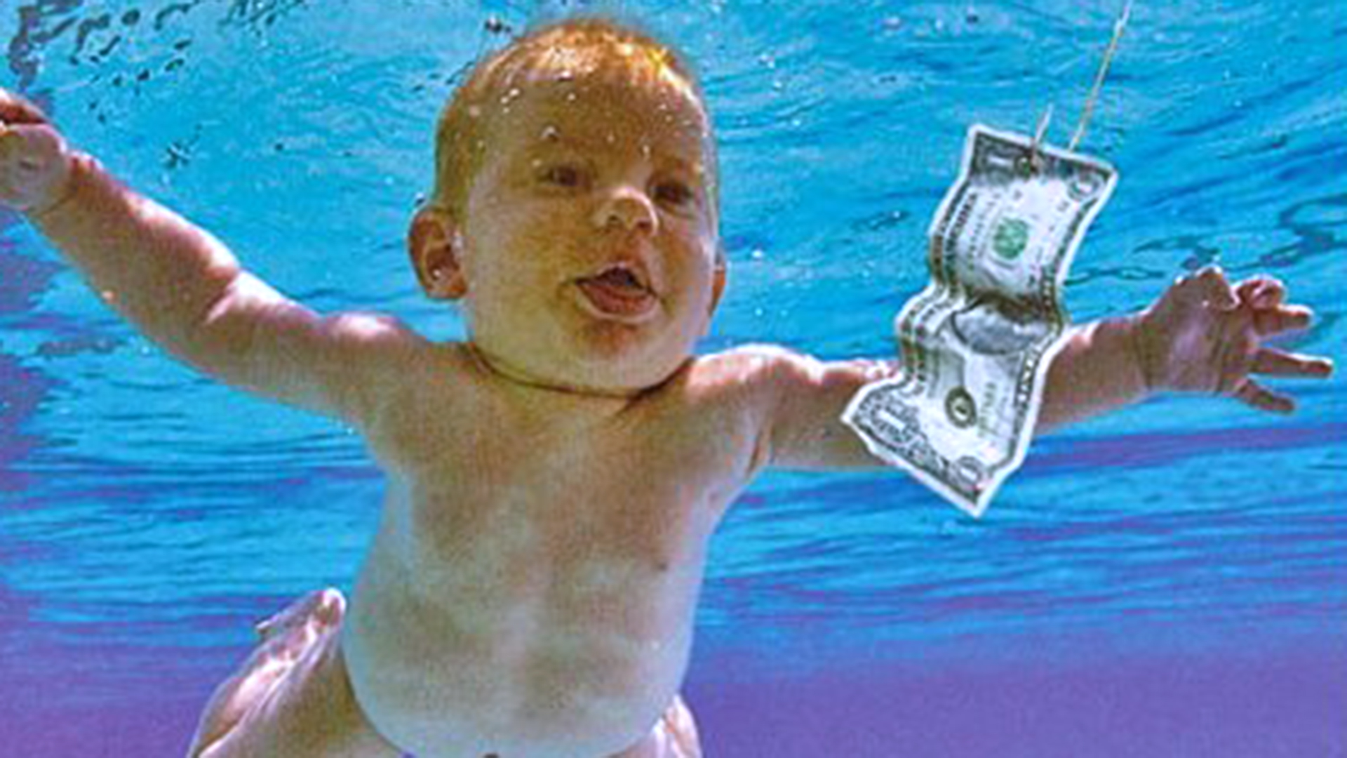Baby from Nirvana's 'Nevermind' cover re-creates photo 25 ...