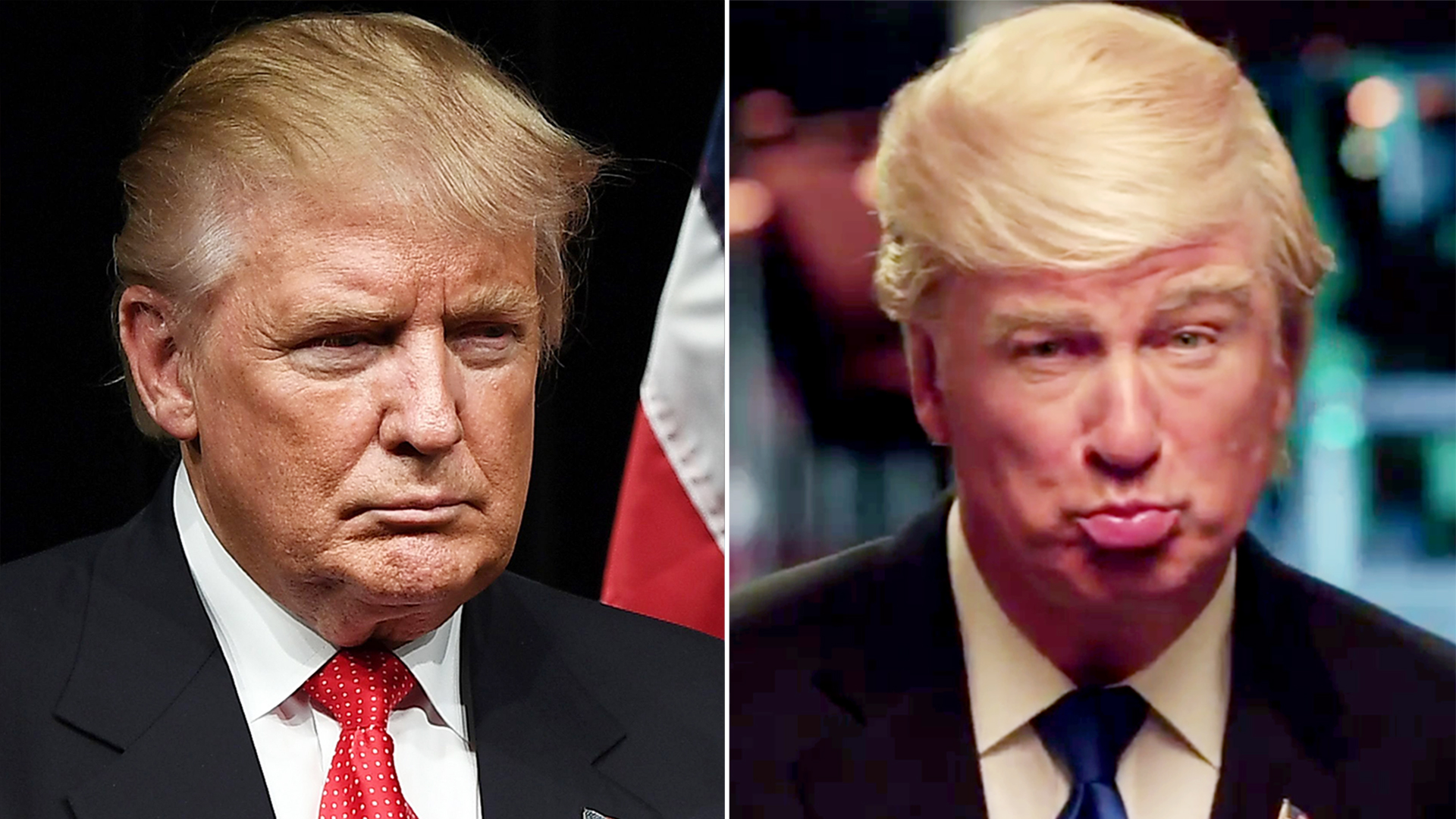 Alec Baldwin will play... Alec Baldwin As Trump