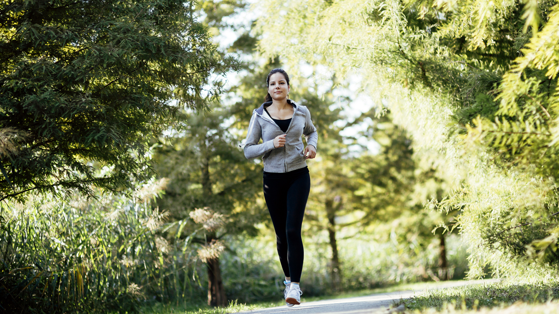 Image result for jogging woman park