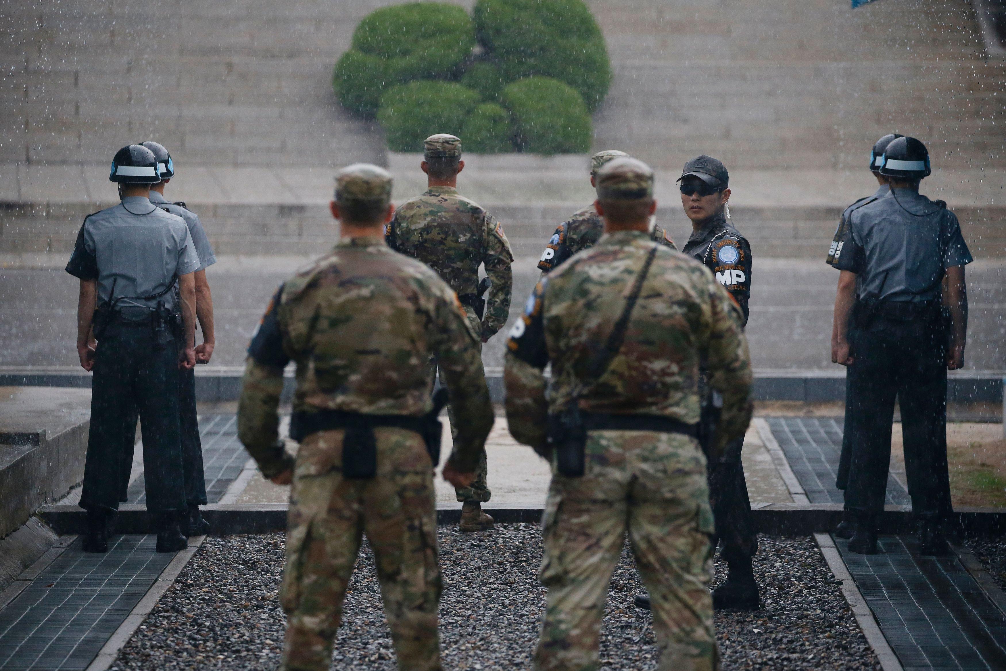 North Korea Defected >> North Korean Soldier Makes Rare Defection Across DMZ to South