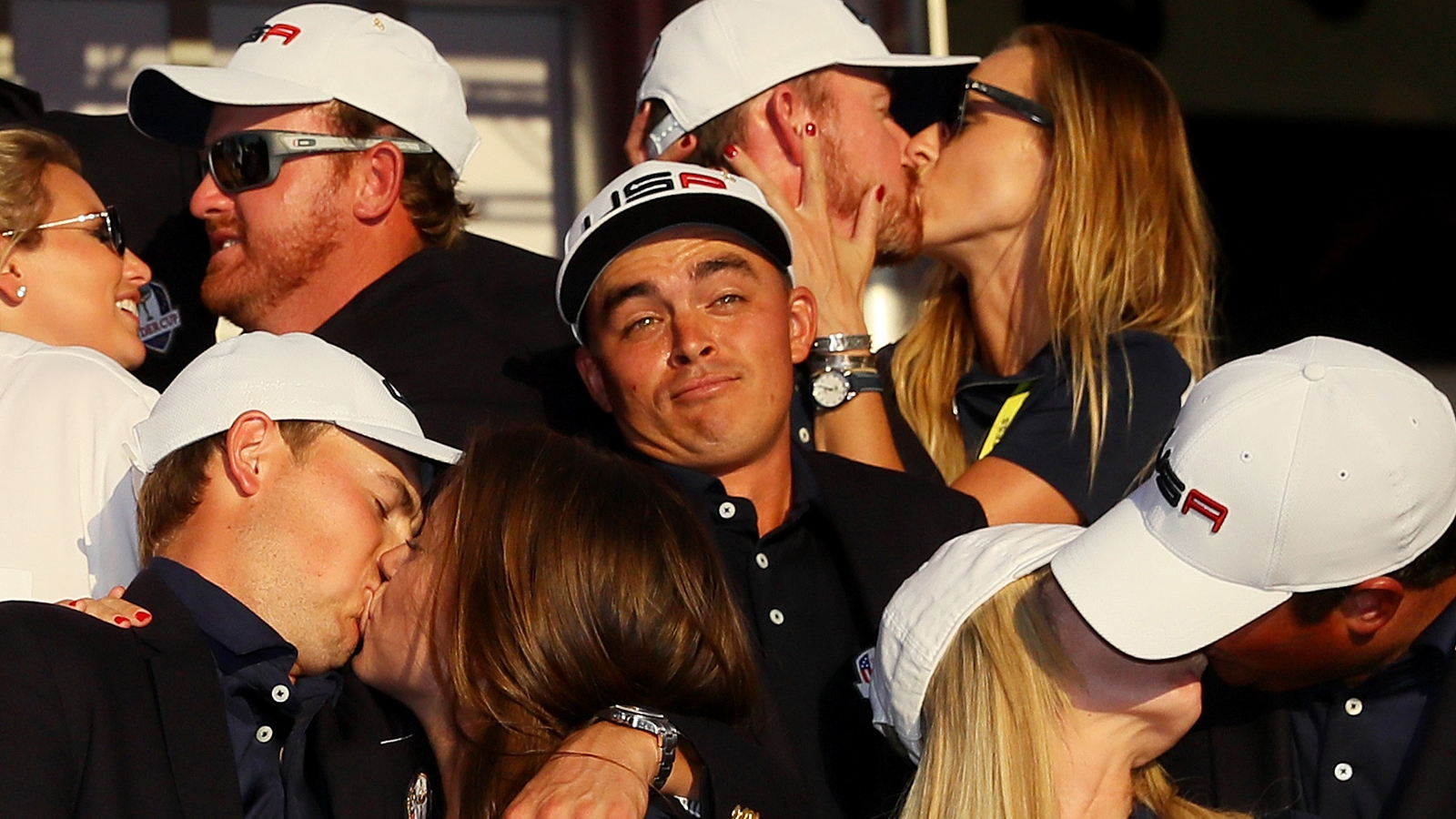 Golfer Shrugs Off Having Nobody to Kiss at Ryder Cup
