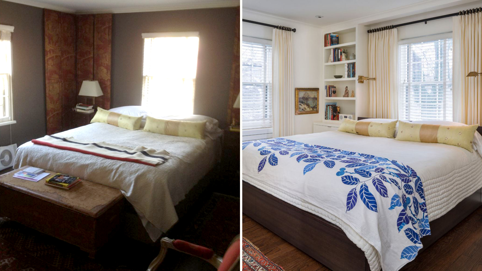 Bedroom Remodel Before And After - Bedroom Ideas