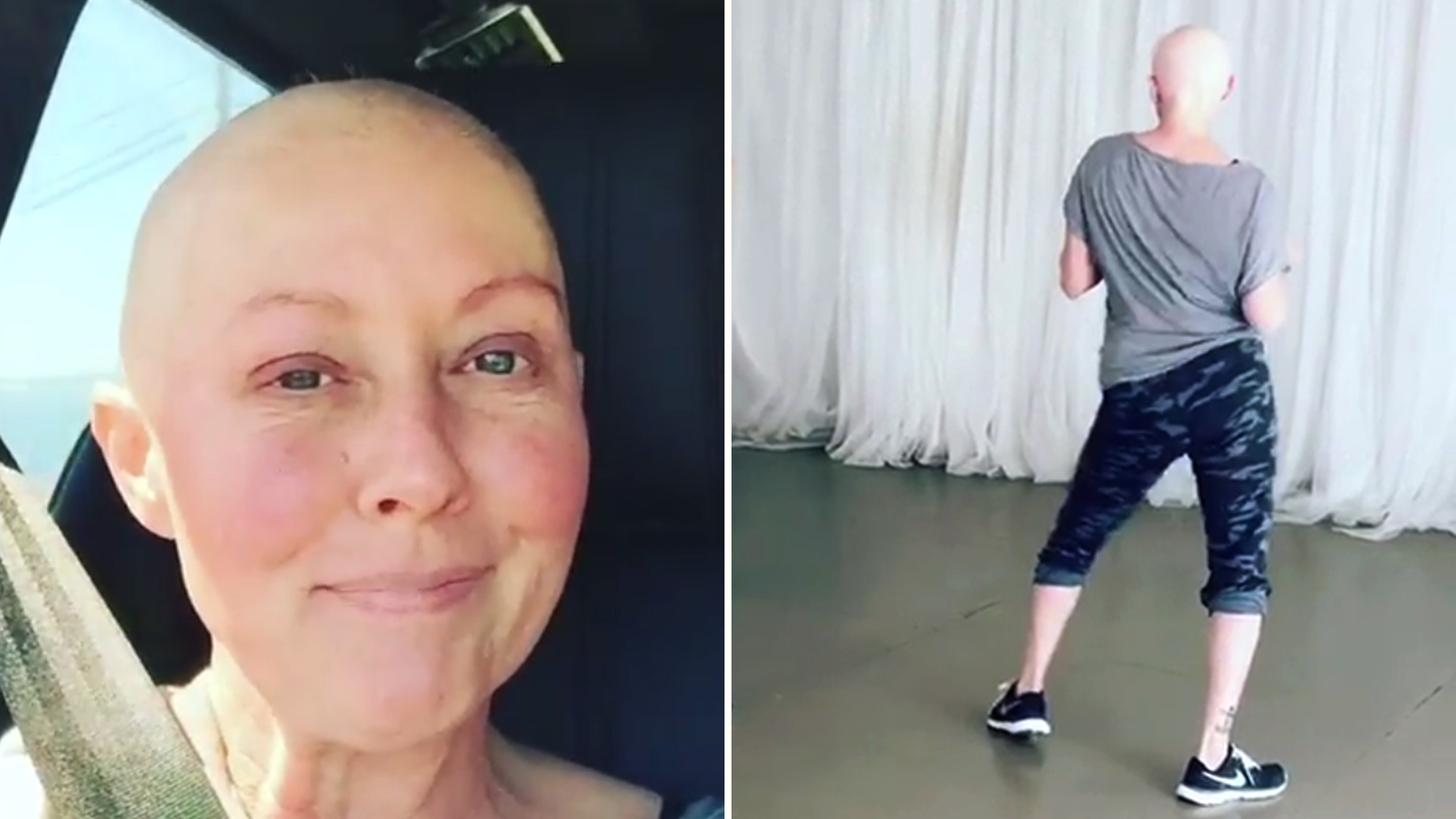 Shannen Doherty dances for the sake of his father 09.03.2010 53