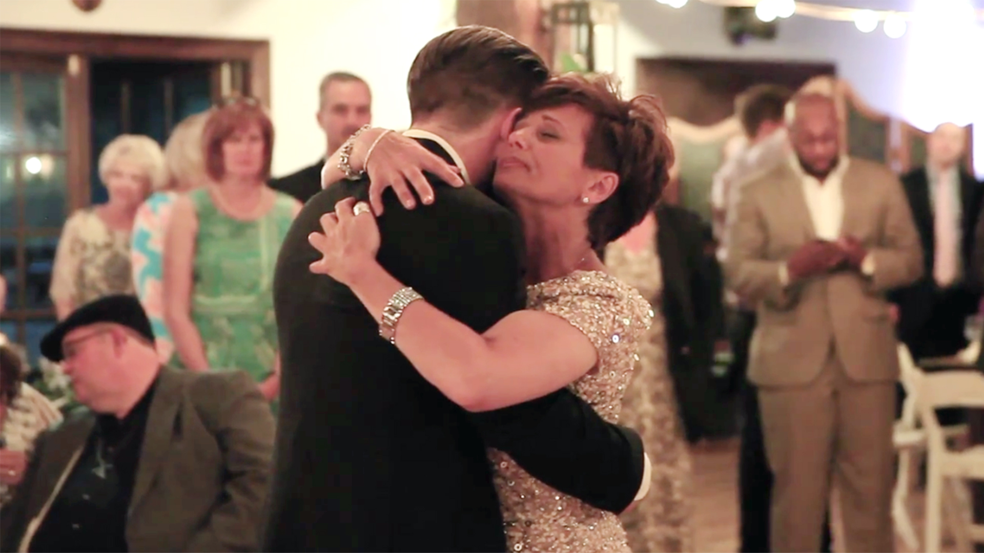 How This Mom With MS Danced With Her Son At His Wedding