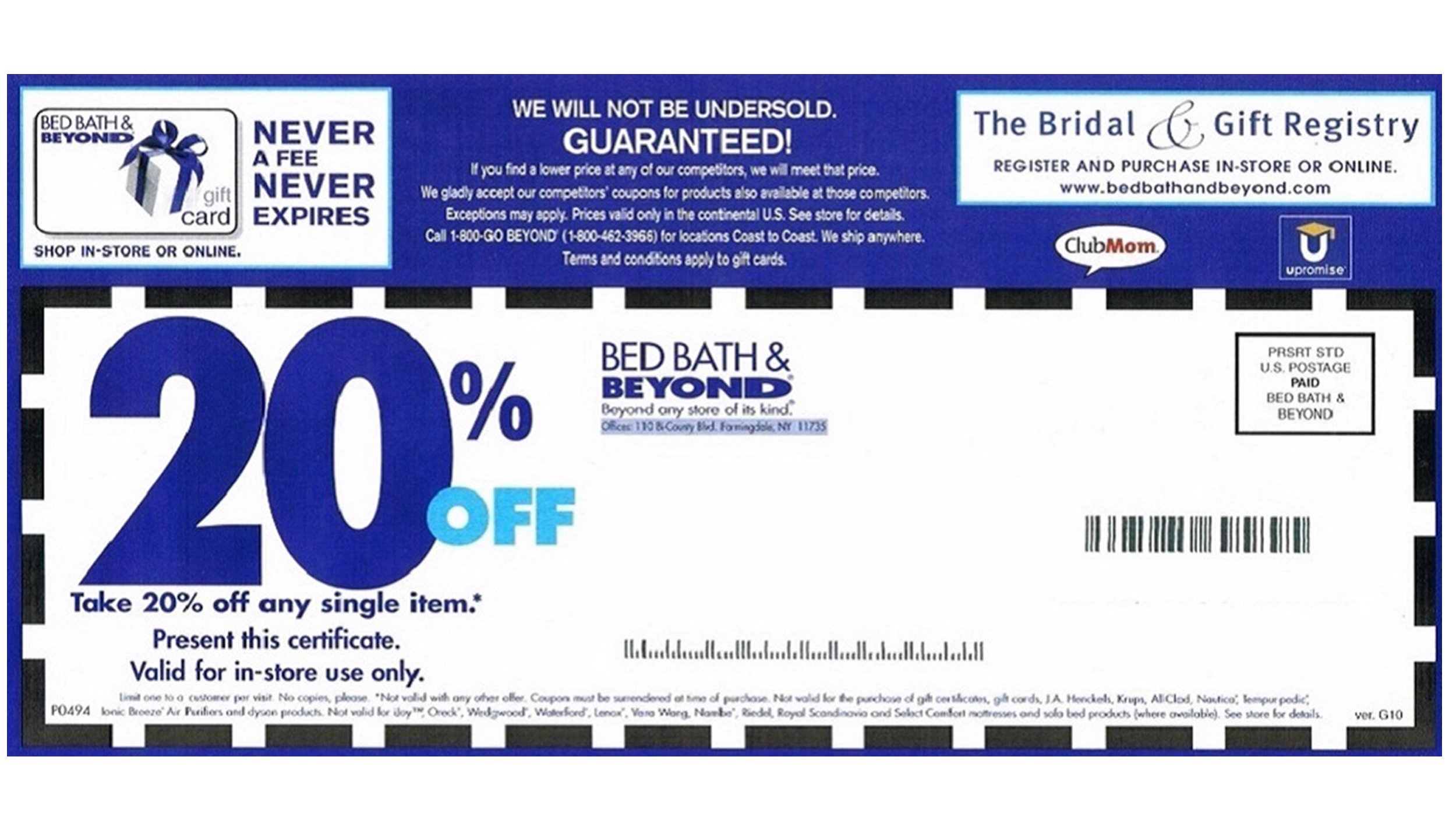 Bed bath and beyond might be getting rid of those coupons youve