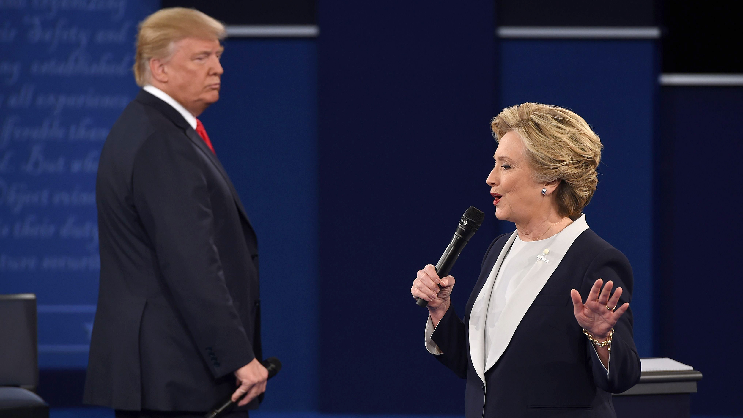 Donald Trump Vs Hillary Clinton Second Presidential
