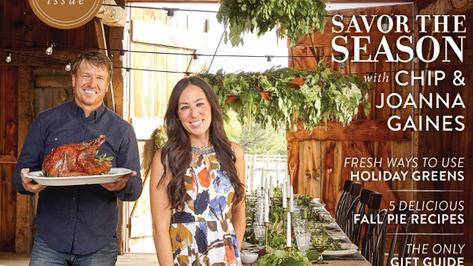 Joanna and chip gaines new magazine magnolia journal take a peek