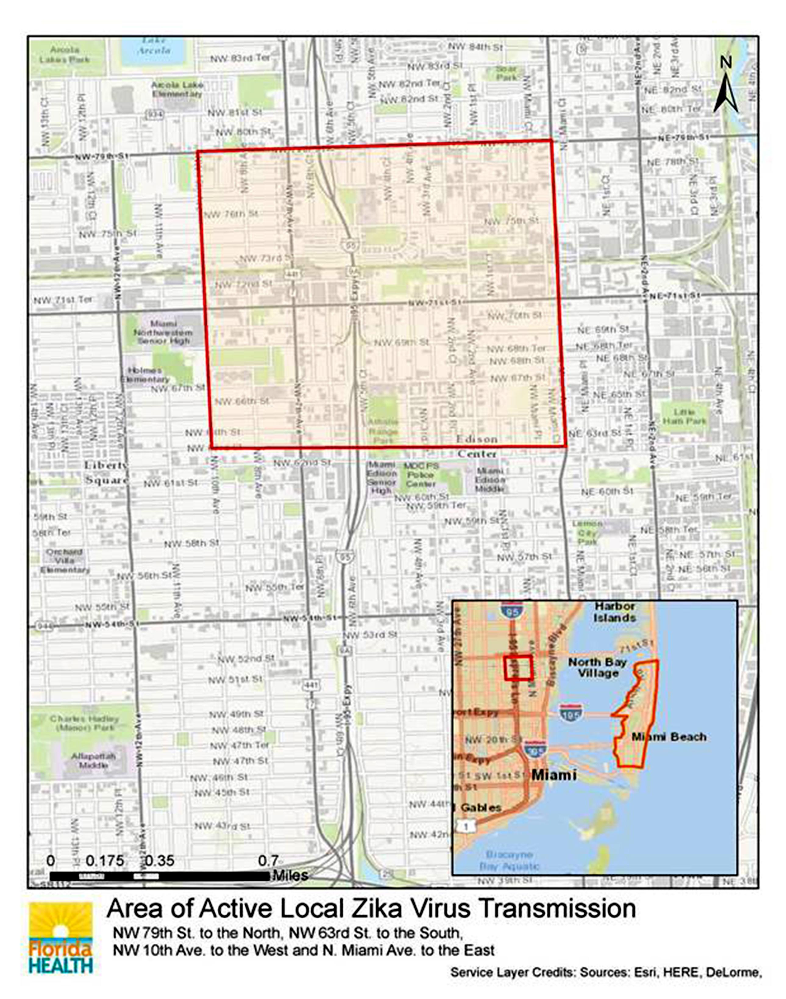 Miami Has a New Zika Zone