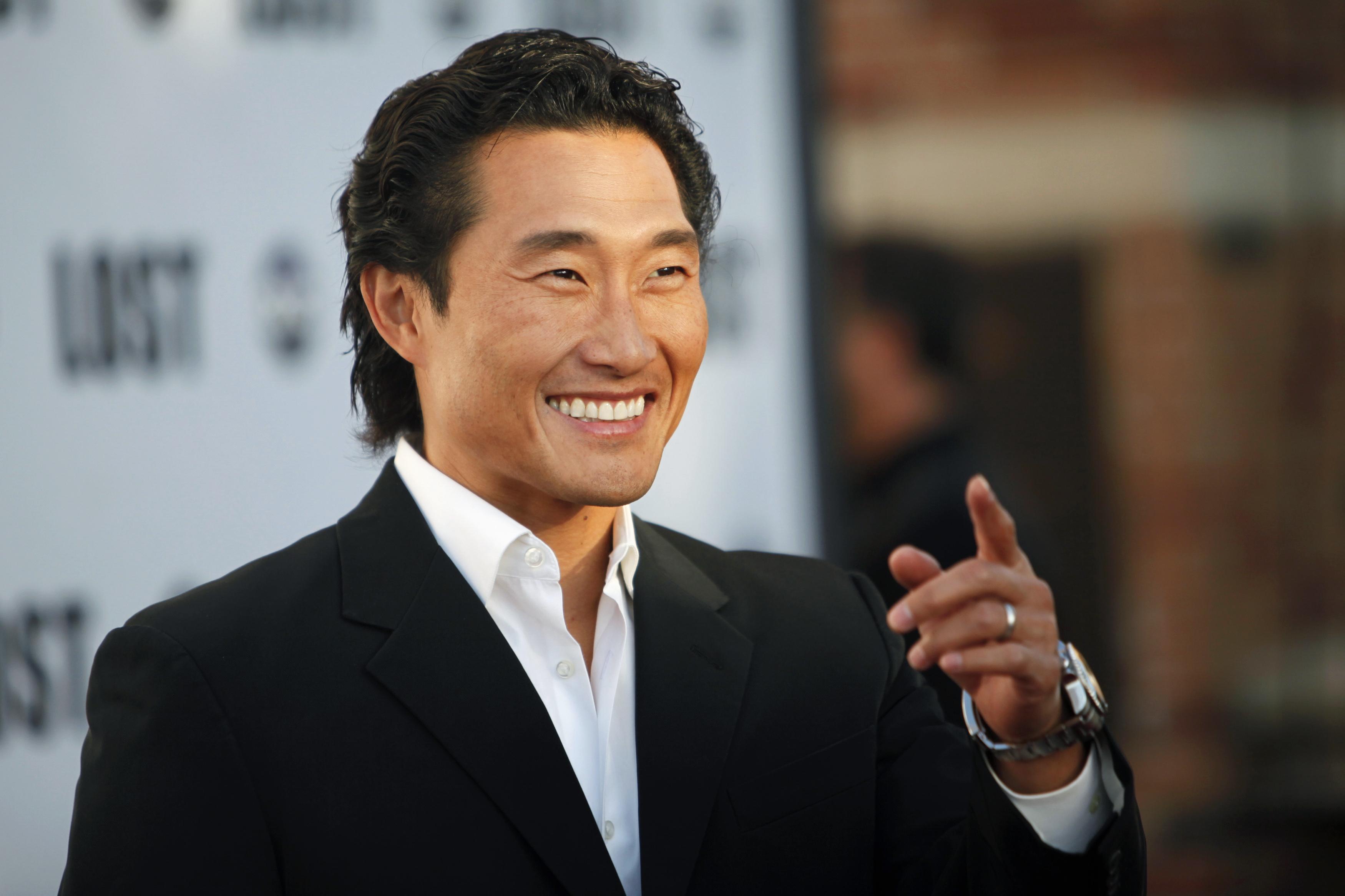 Image: Actor Daniel Dae Kim arrives at ABC's