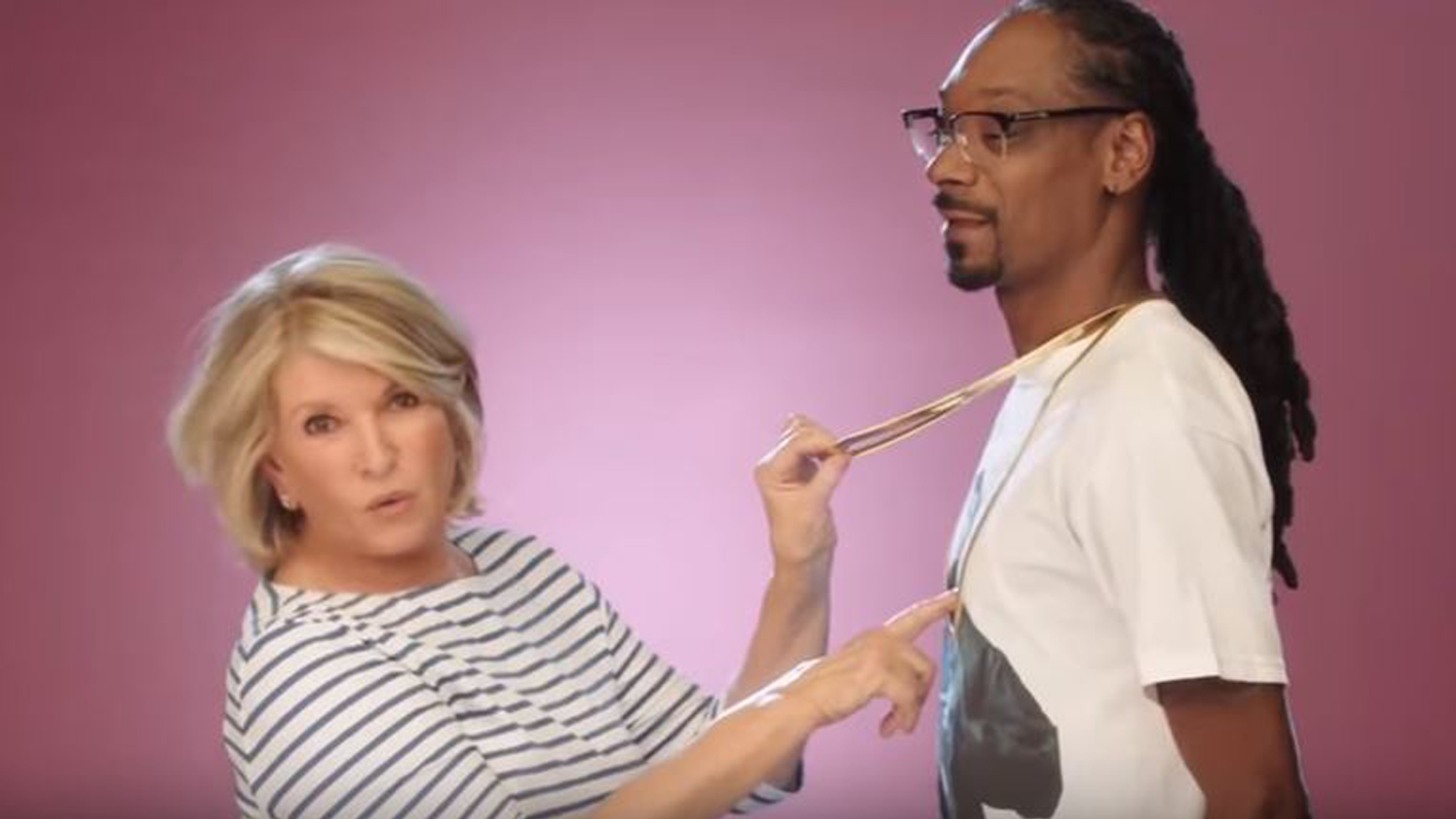 Image result for martha stewart and snoop dogg