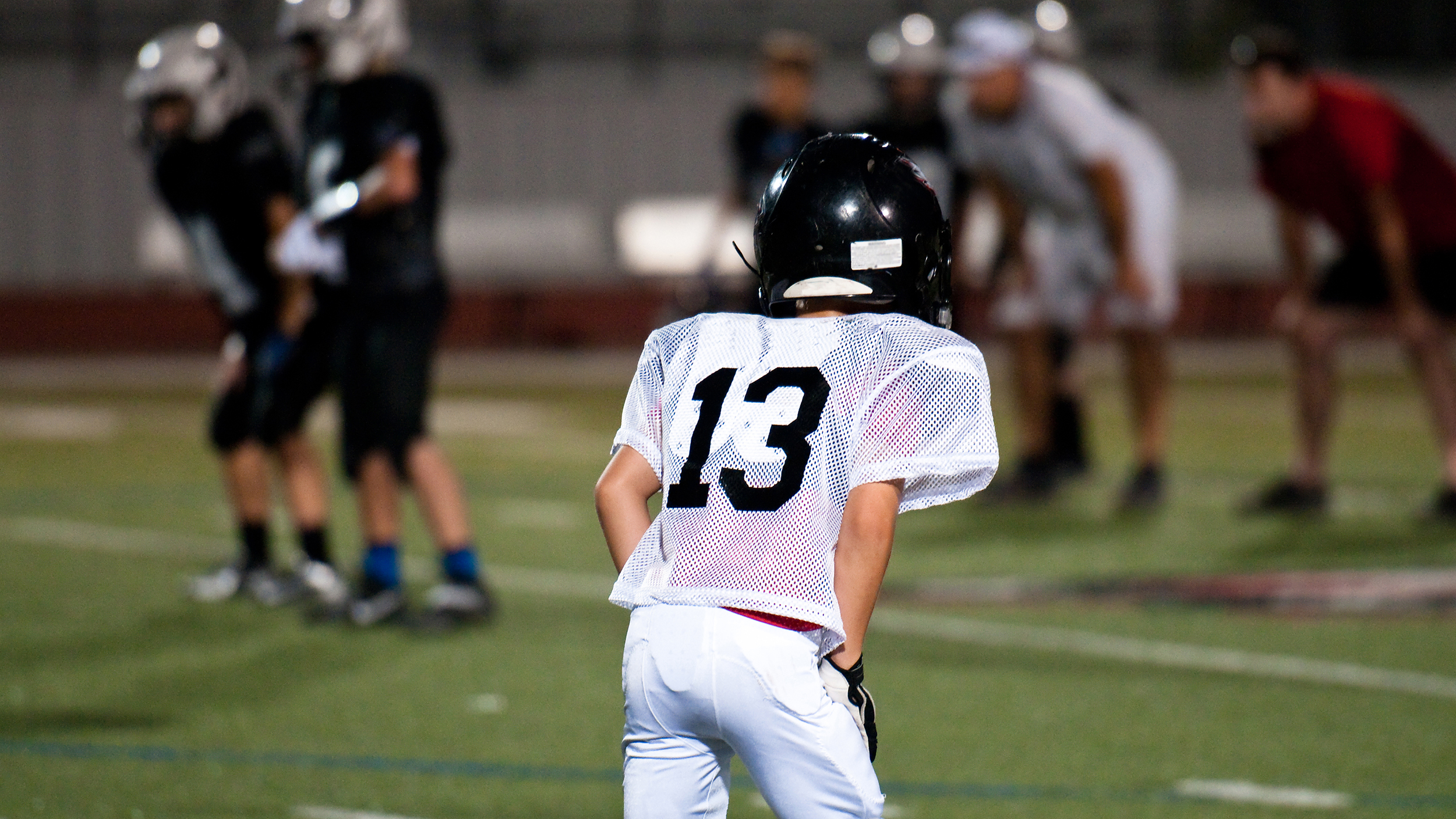 Is football safe for kids? Study looks at brain changes ...