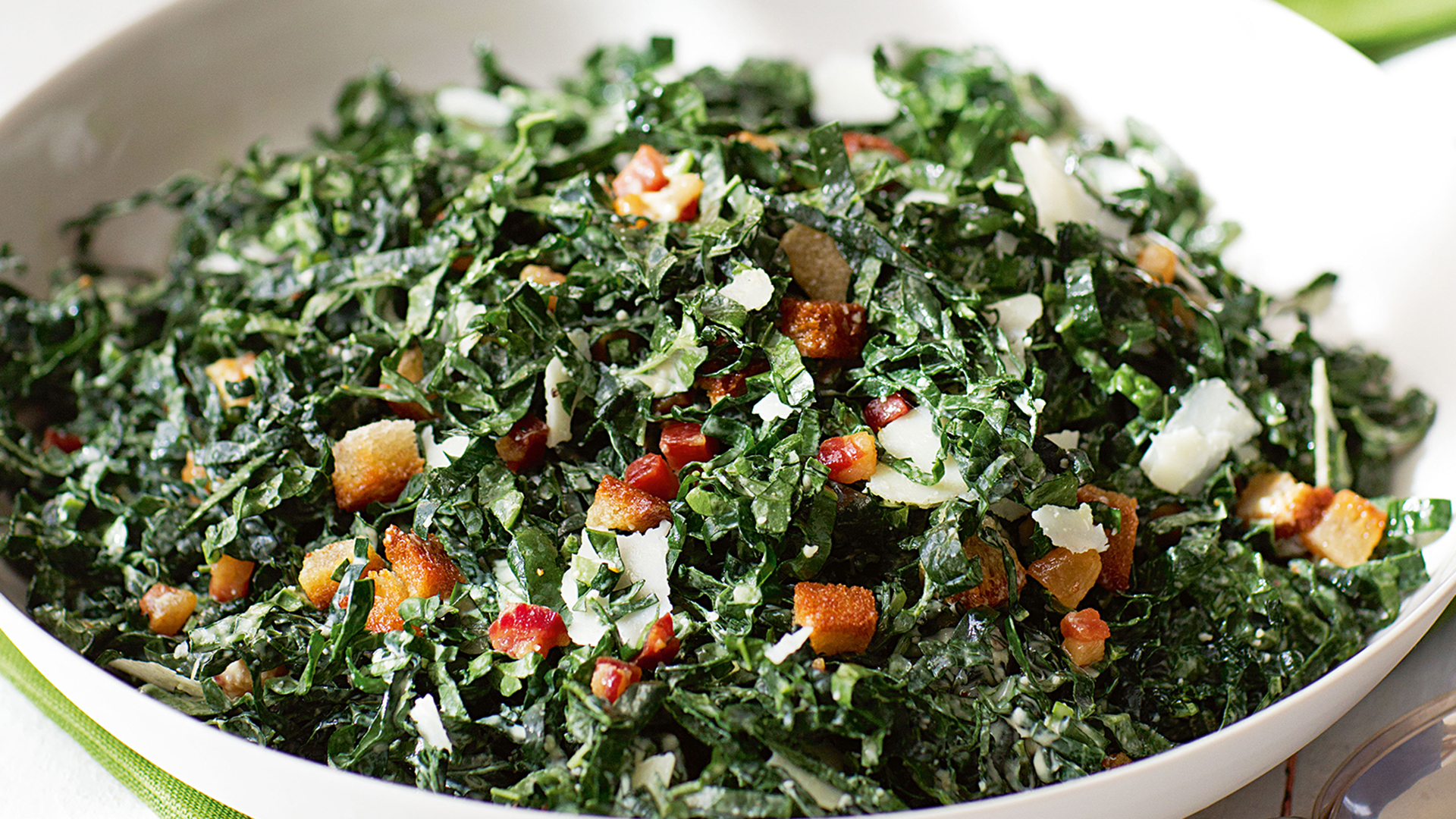 Ina Garten Salads ina garten's kale salad with pancetta and pecorino - today