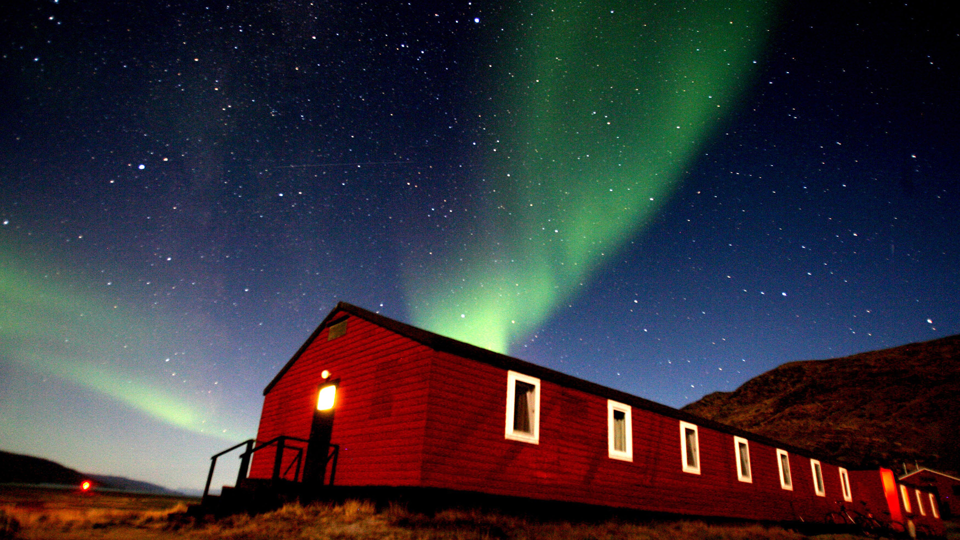 The northern lights may be visible from the US tonight