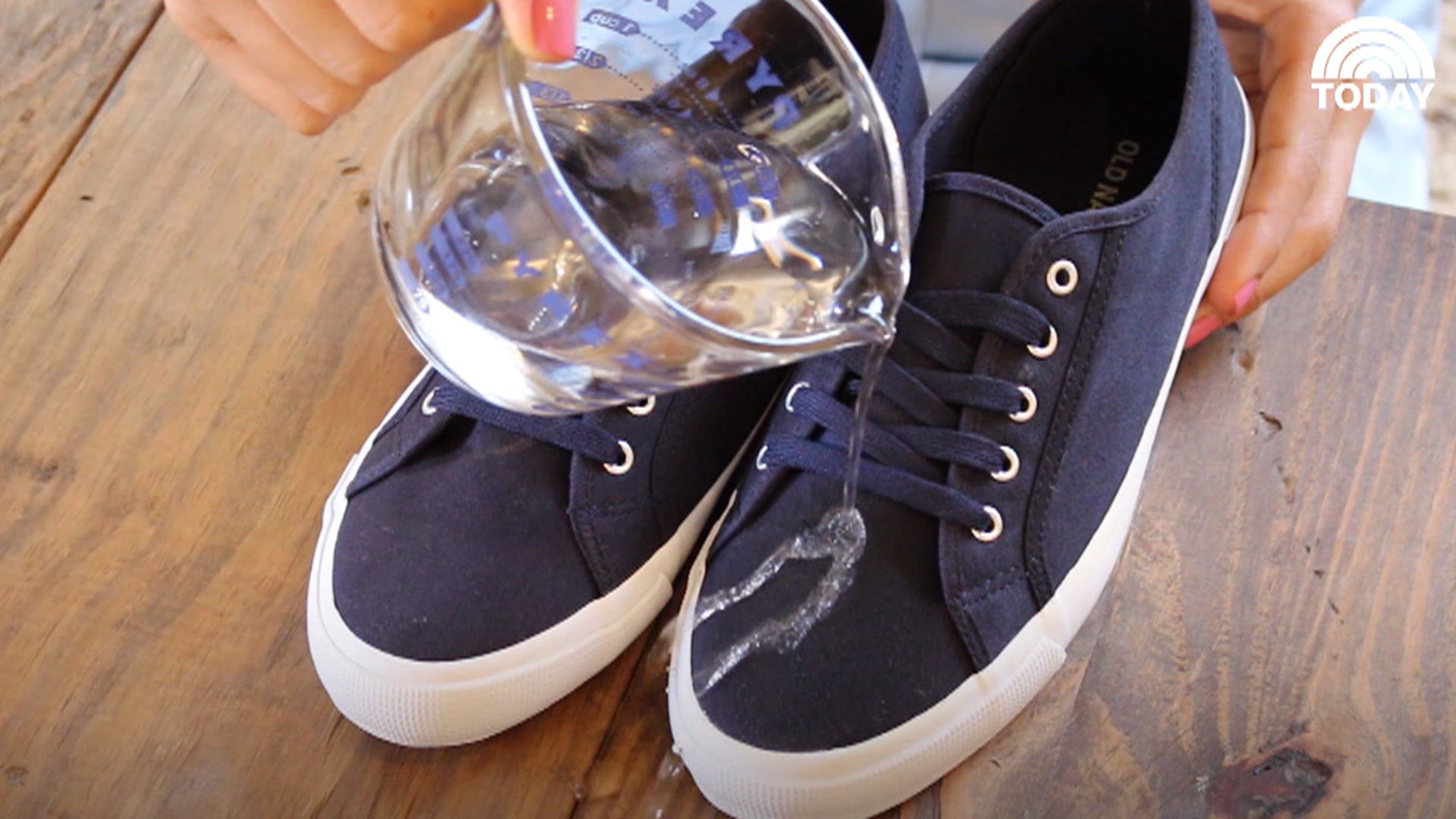 How to waterproof your shoes: Grab a