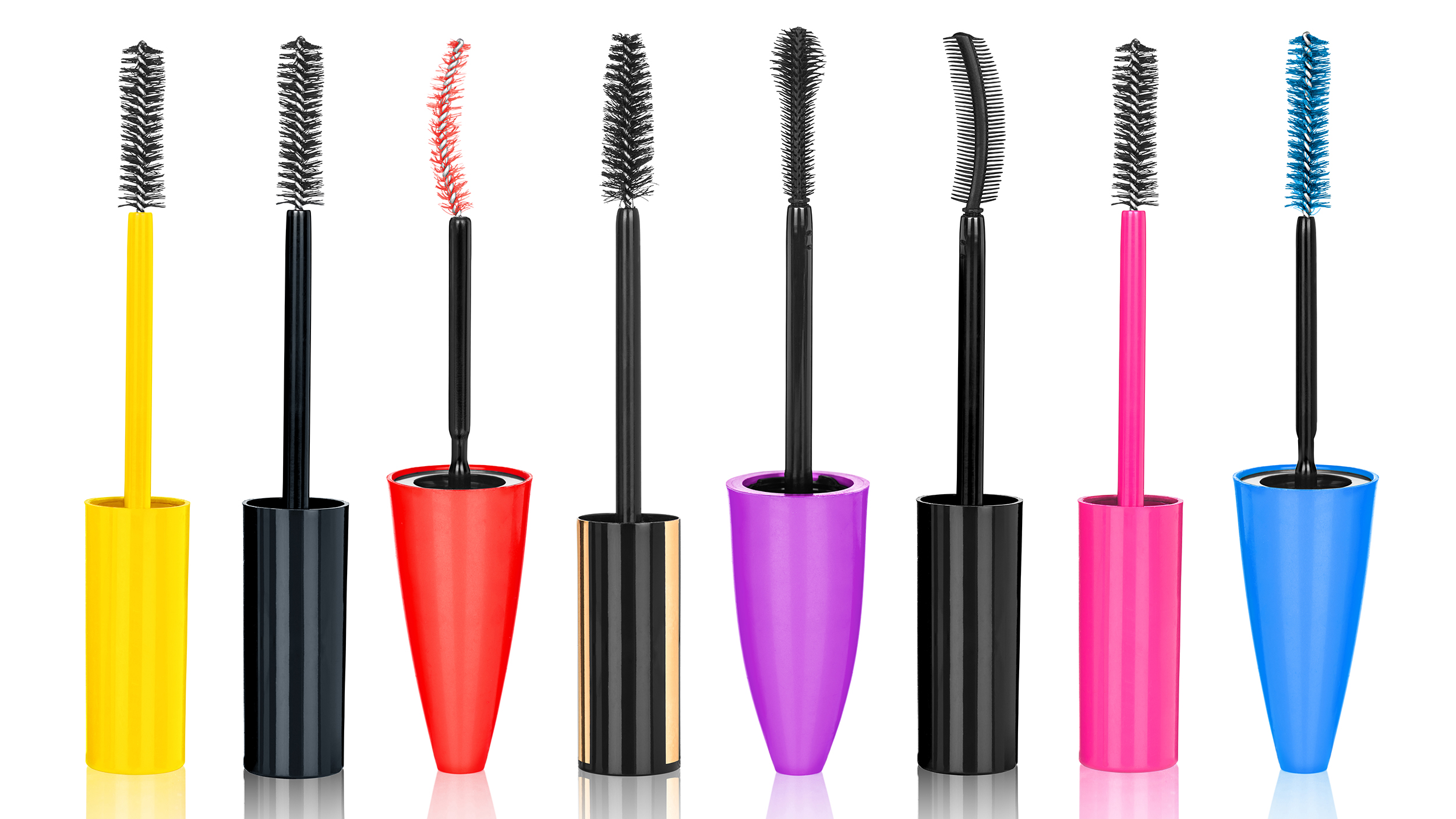 Best mascara guide lengthening volumizing curling and for Mascara with comb wand