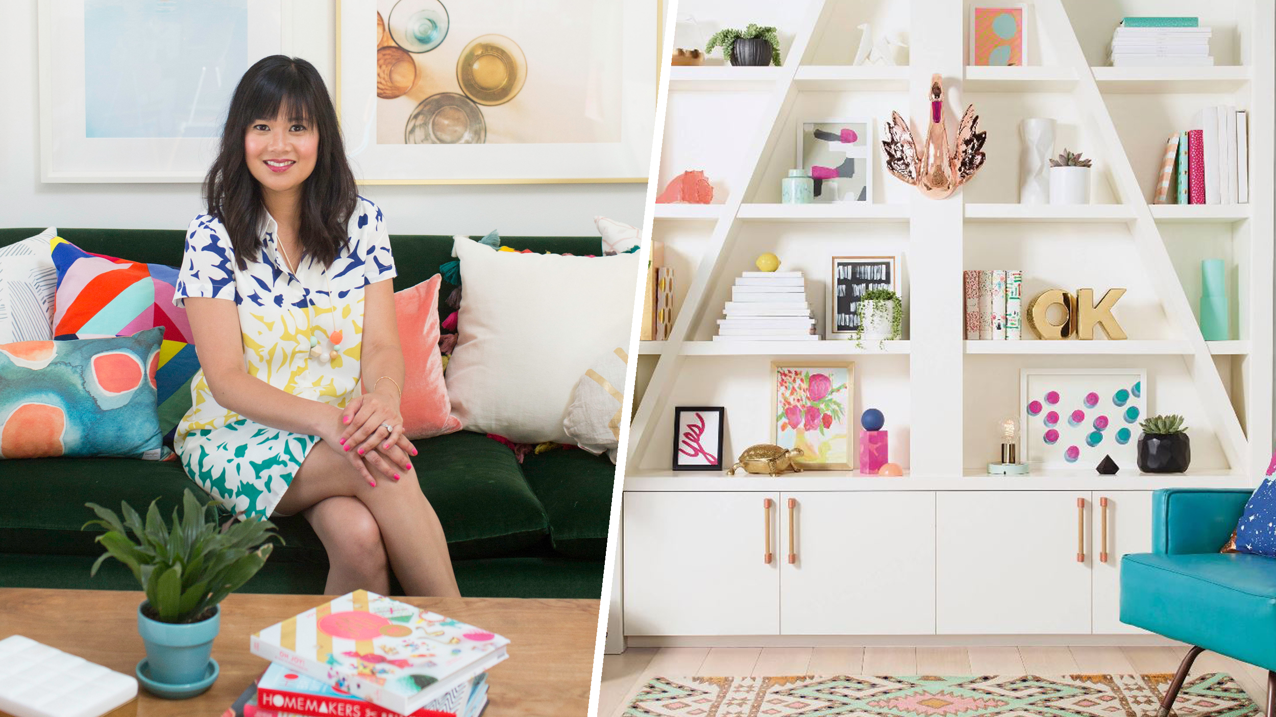 At Home With TODAY Joy Of Oh Joy Invites Us To Her Studio - Joy home design