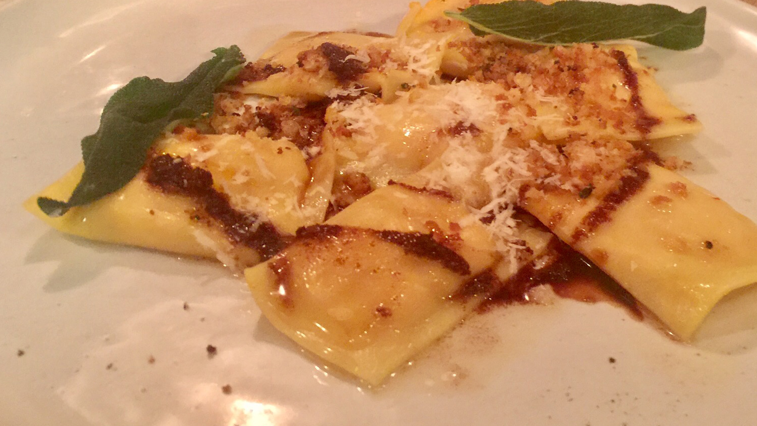 Butternut Squash Agnolotti With Brown Butter And