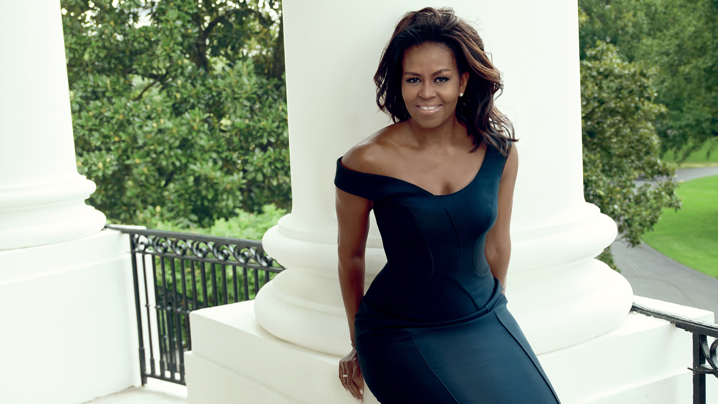Look come at michelle obamas vogue cover pictures