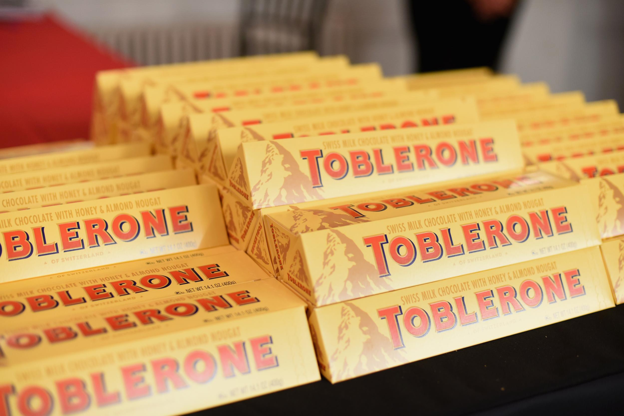 Shrinking Toblerone Triangle Bar Leaves U.K. Chocolate Fans Bitter ...