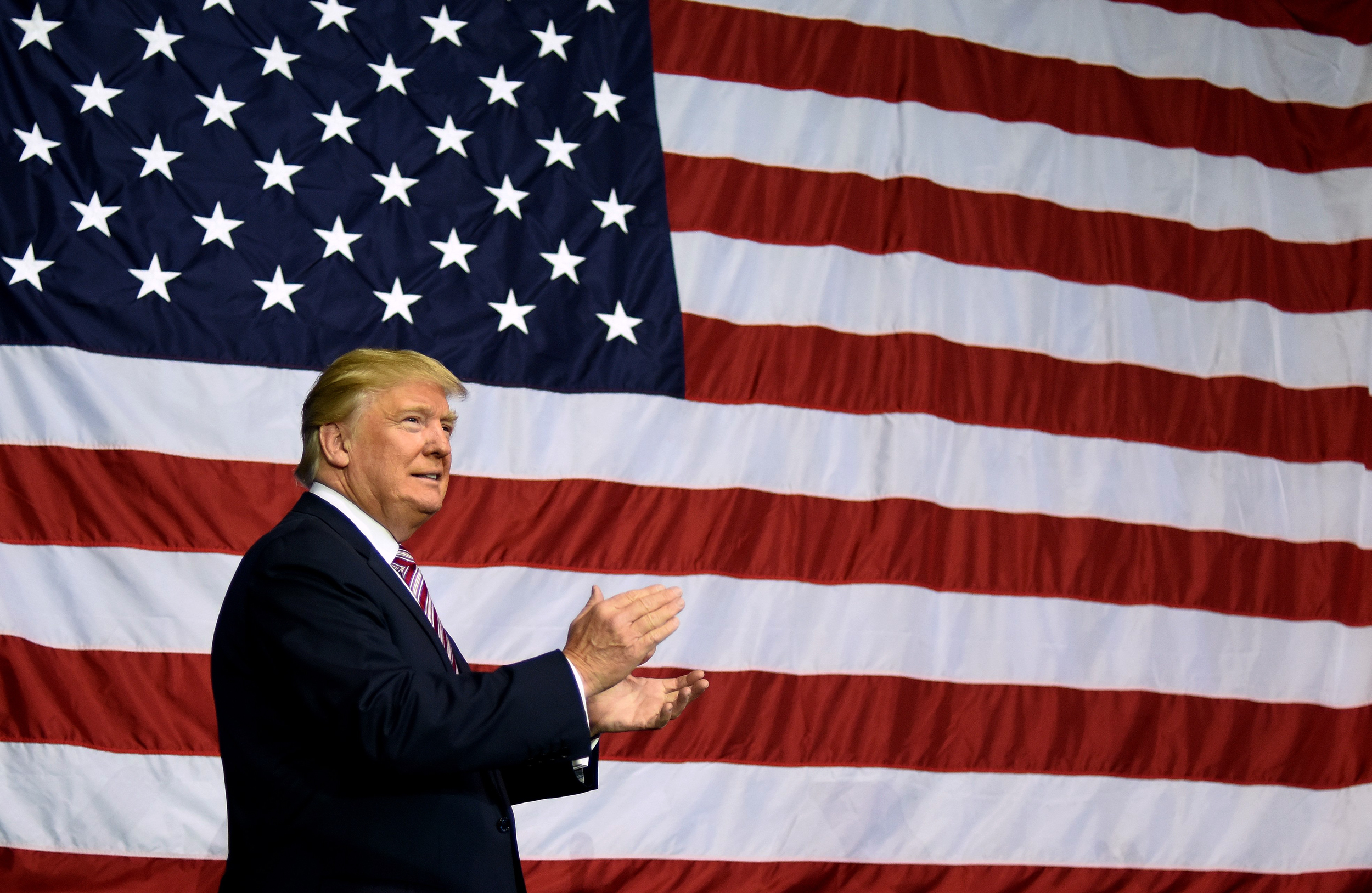 Donald Trump Proposes Two Illegal Responses to Flag Burning