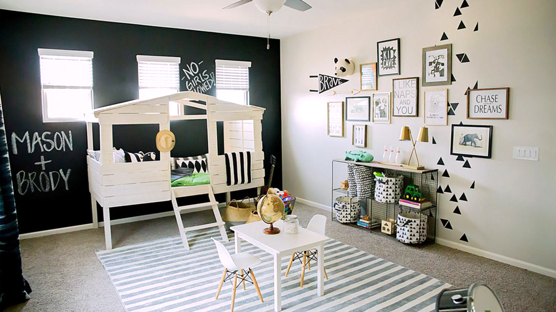 See Inside This Fun Playroom For Little Boys