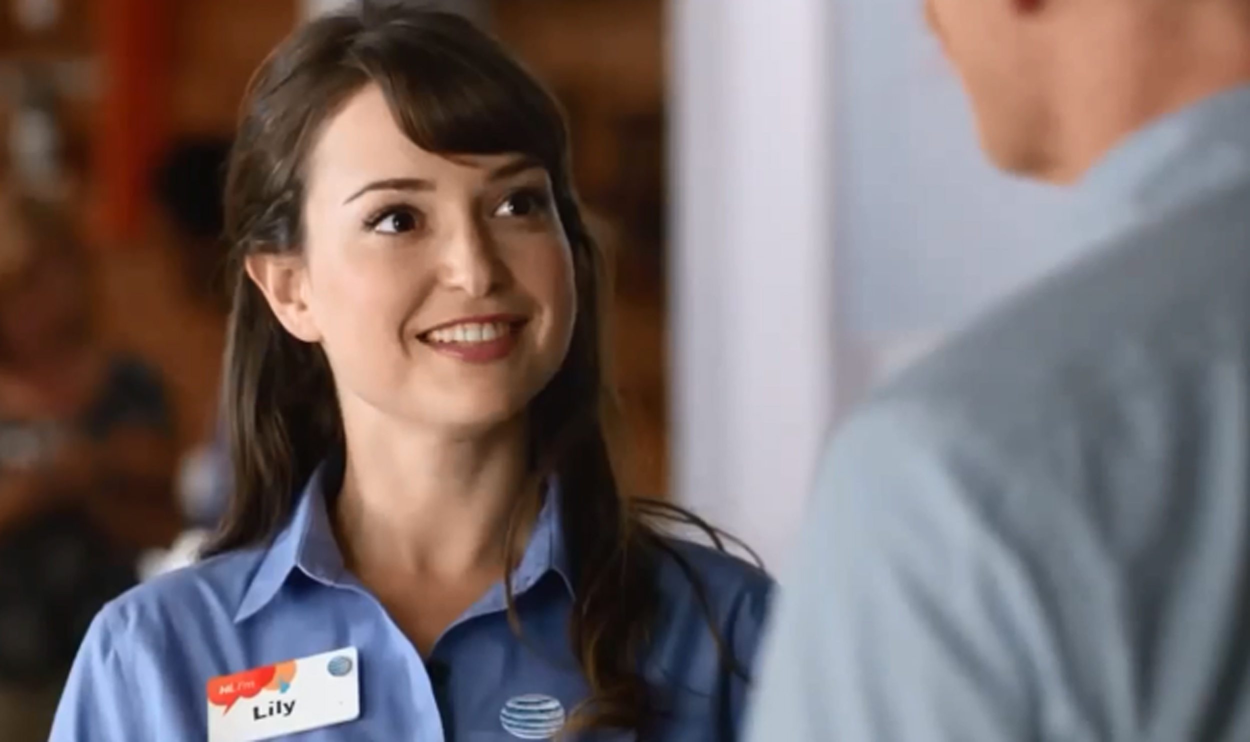 Milana Vayntrub Lily From Those At T Ads Has A Message For Syrian Refugees