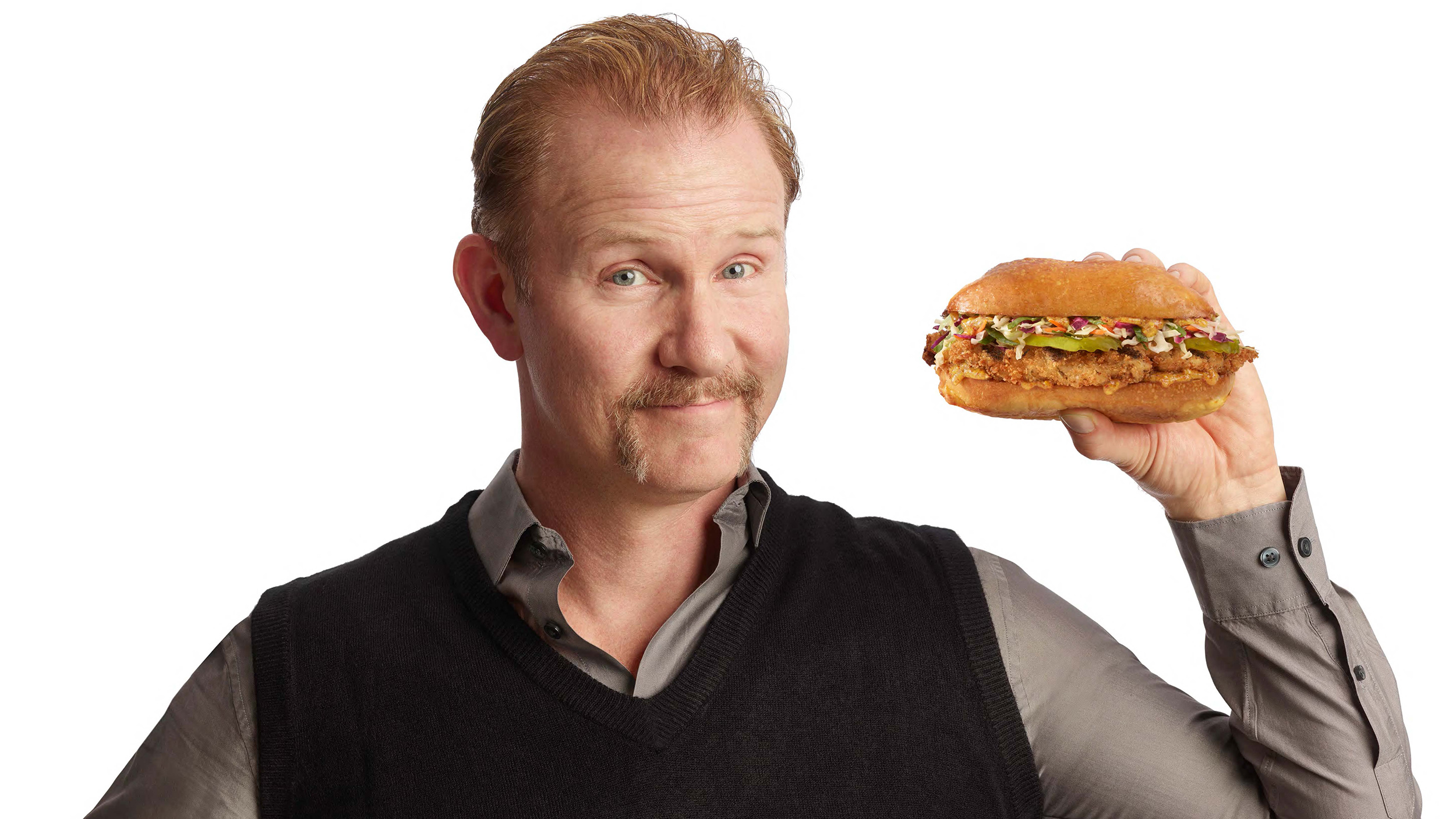 Super Size Me' filmmaker Morgan Spurlock opens a fast food ...