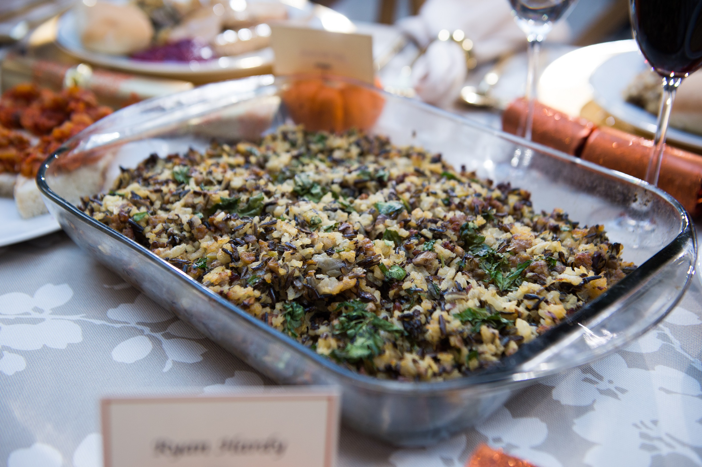 Mushroom & Sausage Rice Stuffing - TODAY.com