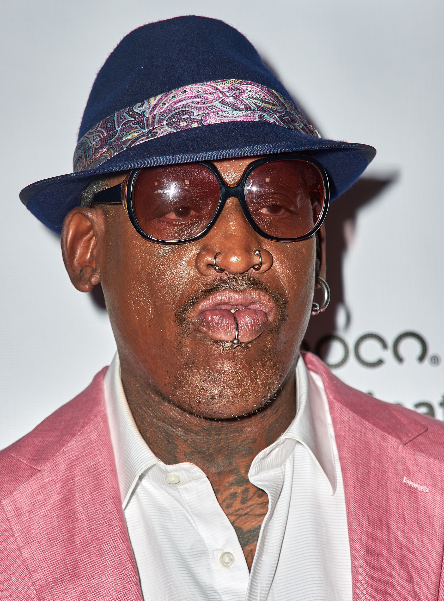 Ex Nba Star Dennis Rodman Charged With Hit And Run