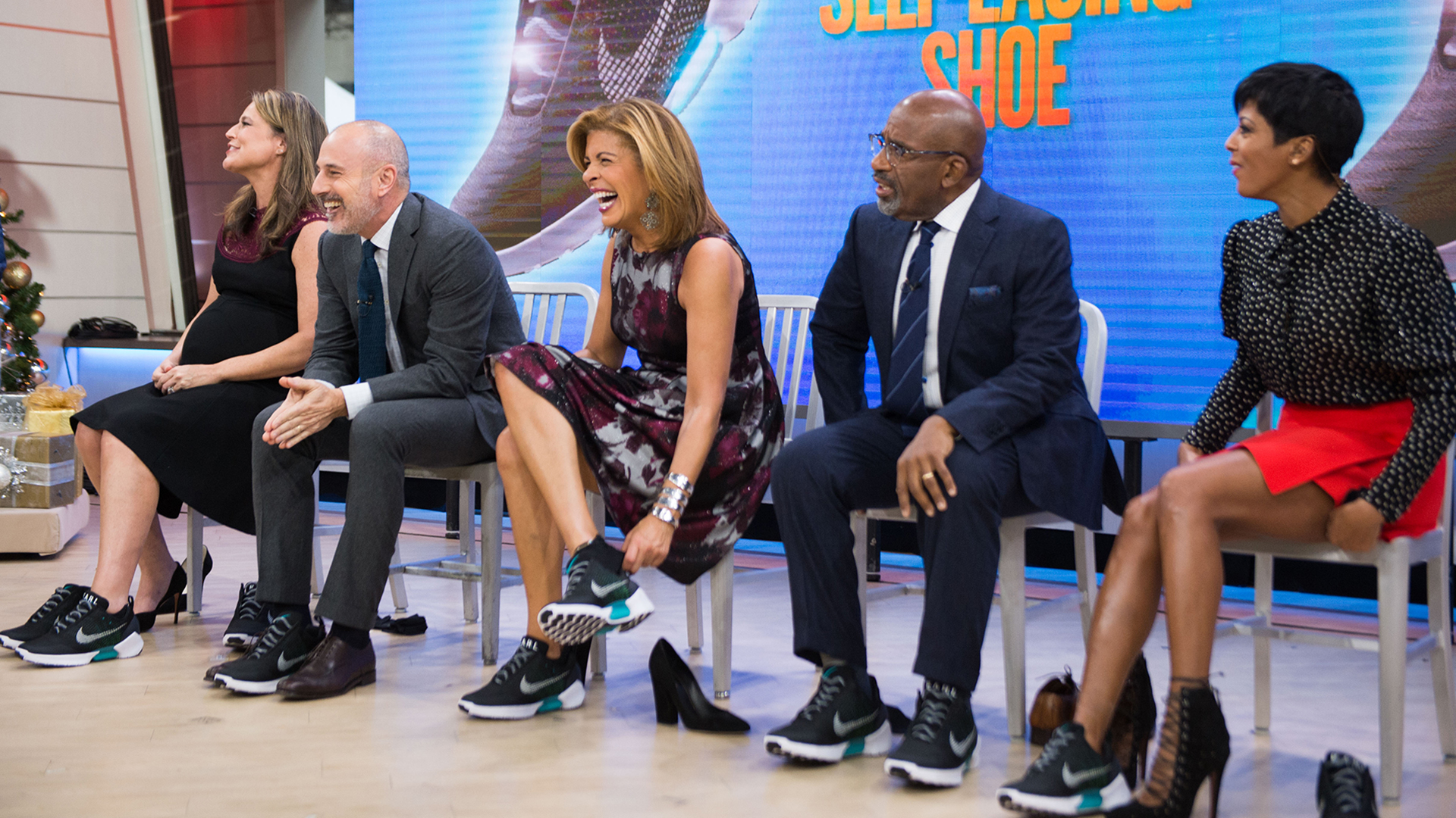 Nike Self Lacing Shoes Today Show