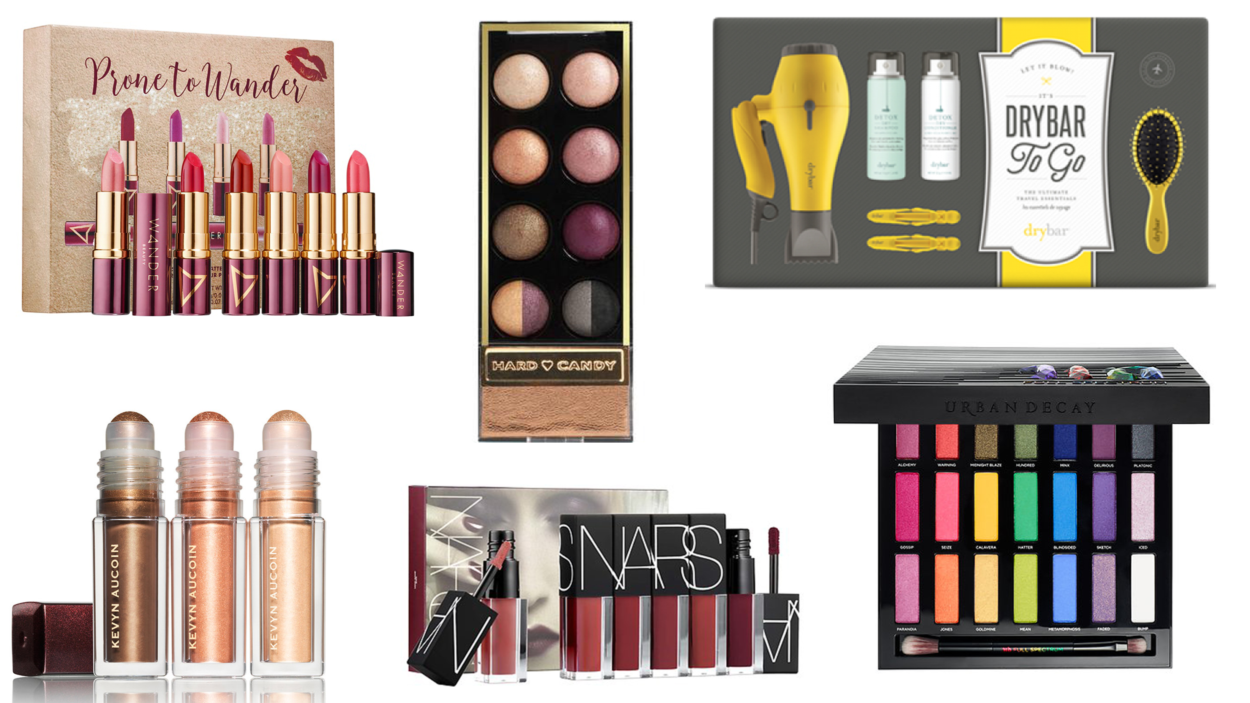 Gift ideas for her: Beauty kits, makeup