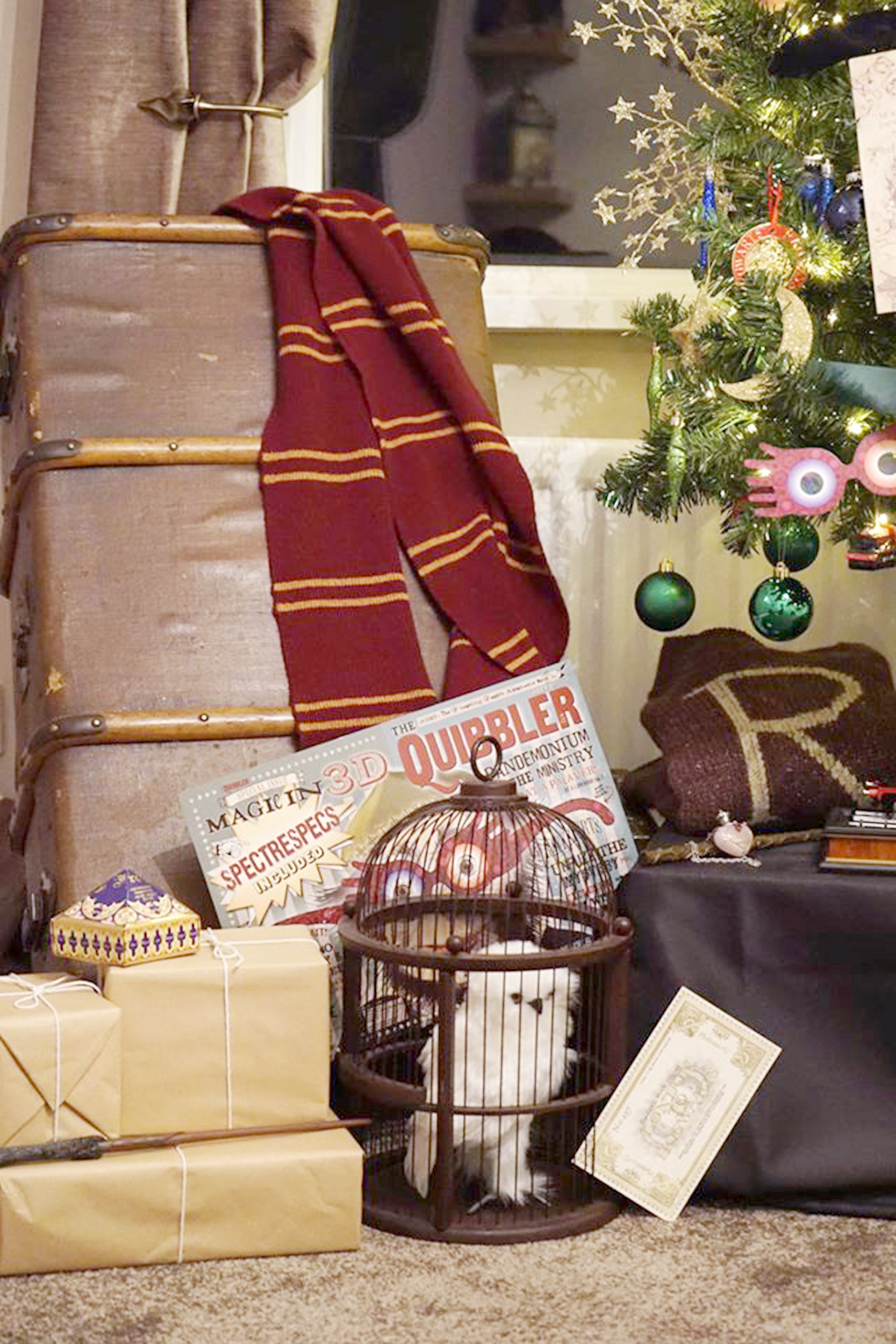 Harry Potter Themed Christmas Tree Decorations